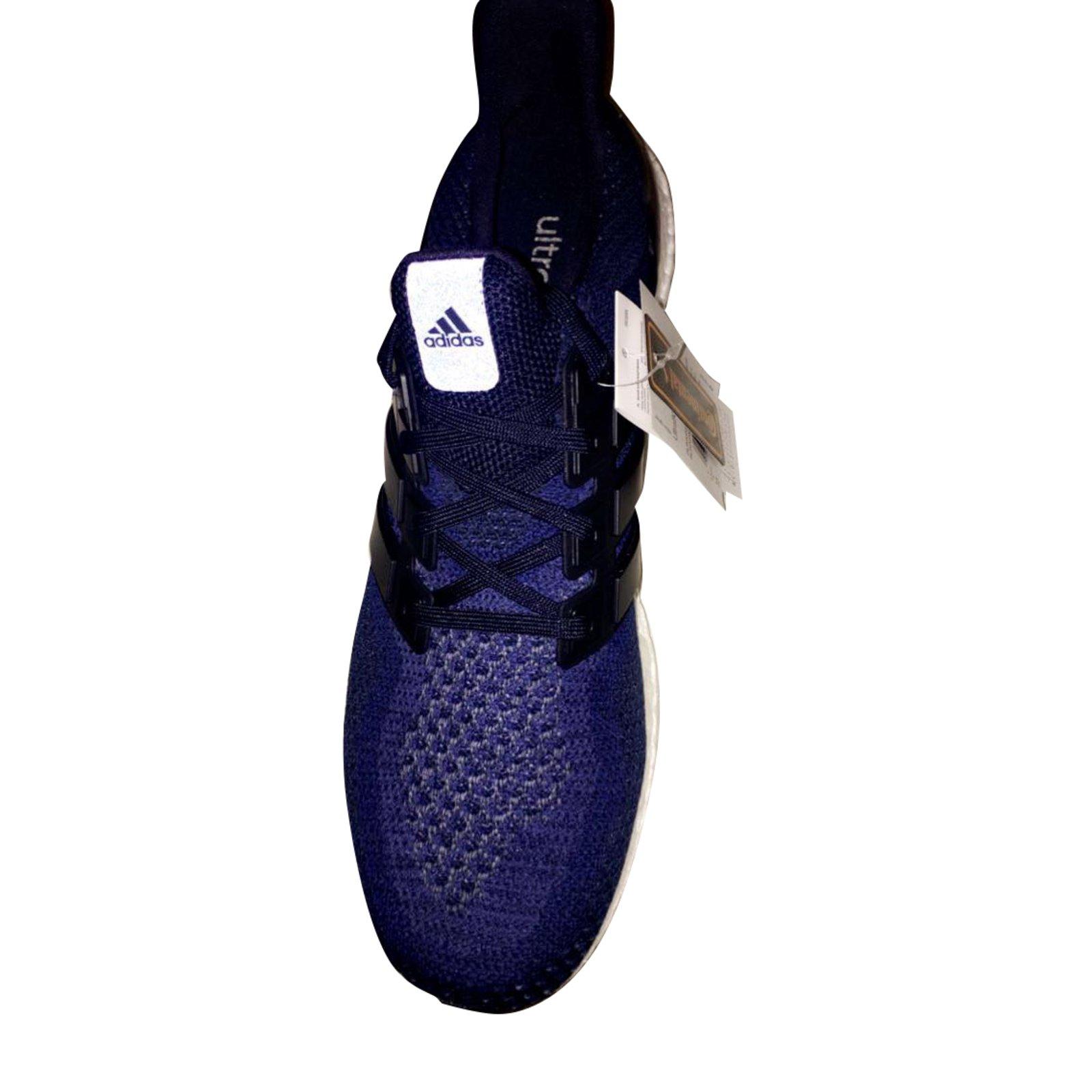 da2a68d7cbd8 Adidas Ultra boost M (AQ5928) Sneakers Synthetic Blue ref.31216 ...