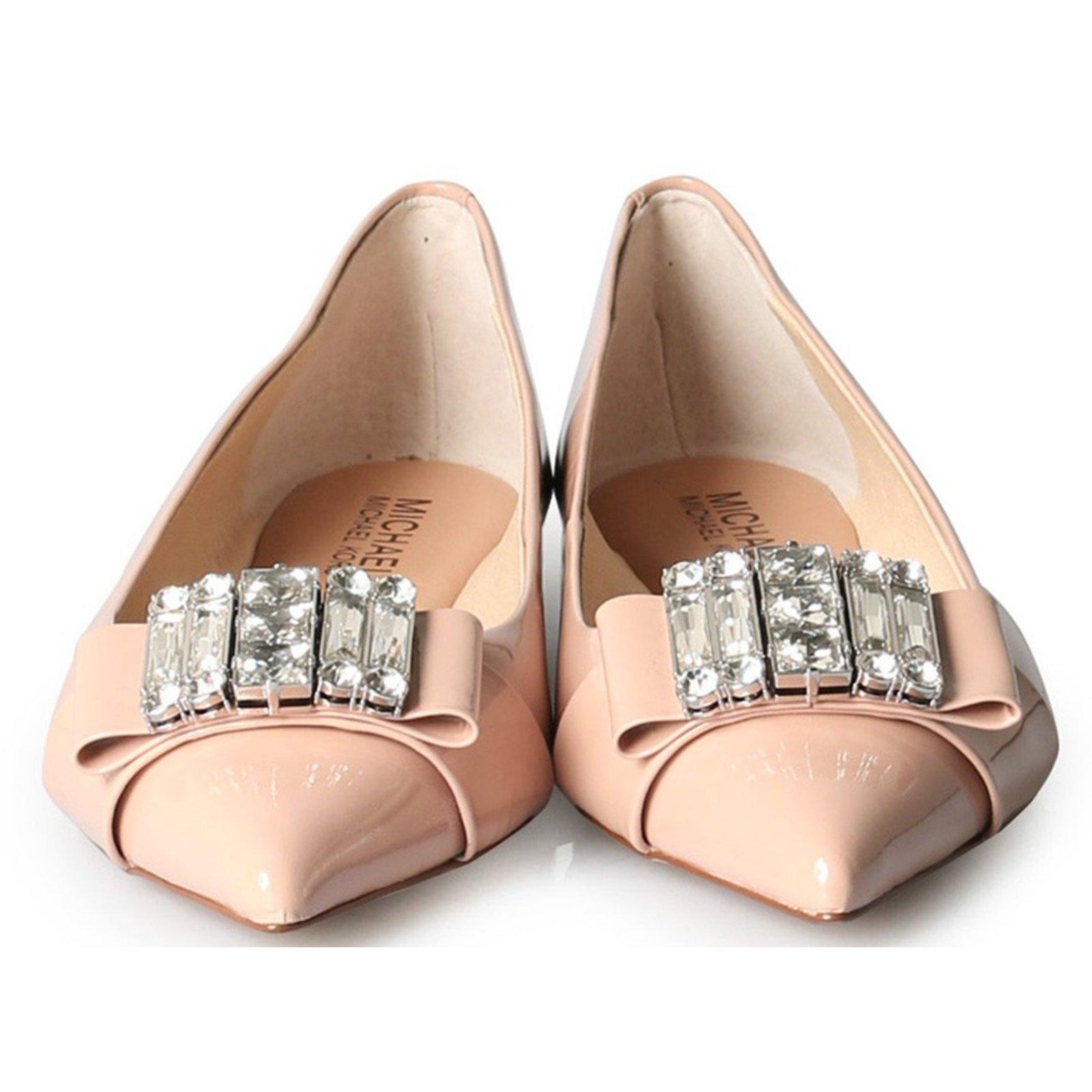 a90c149a5 Michael Kors Ballet flats Ballet flats Patent leather Pink ref.31262 ...