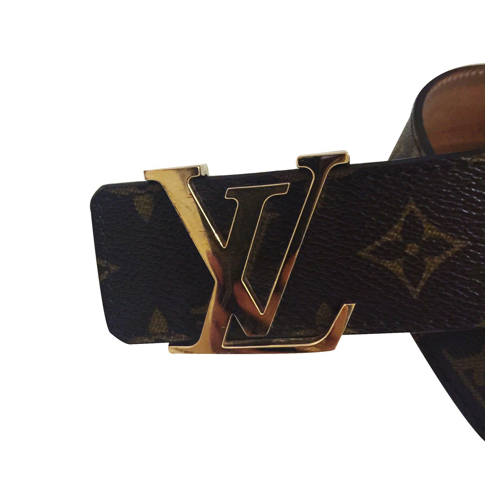 8768ea7d9ebb Louis Vuitton Belt Belts Leather Brown ref.31335 - Joli Closet
