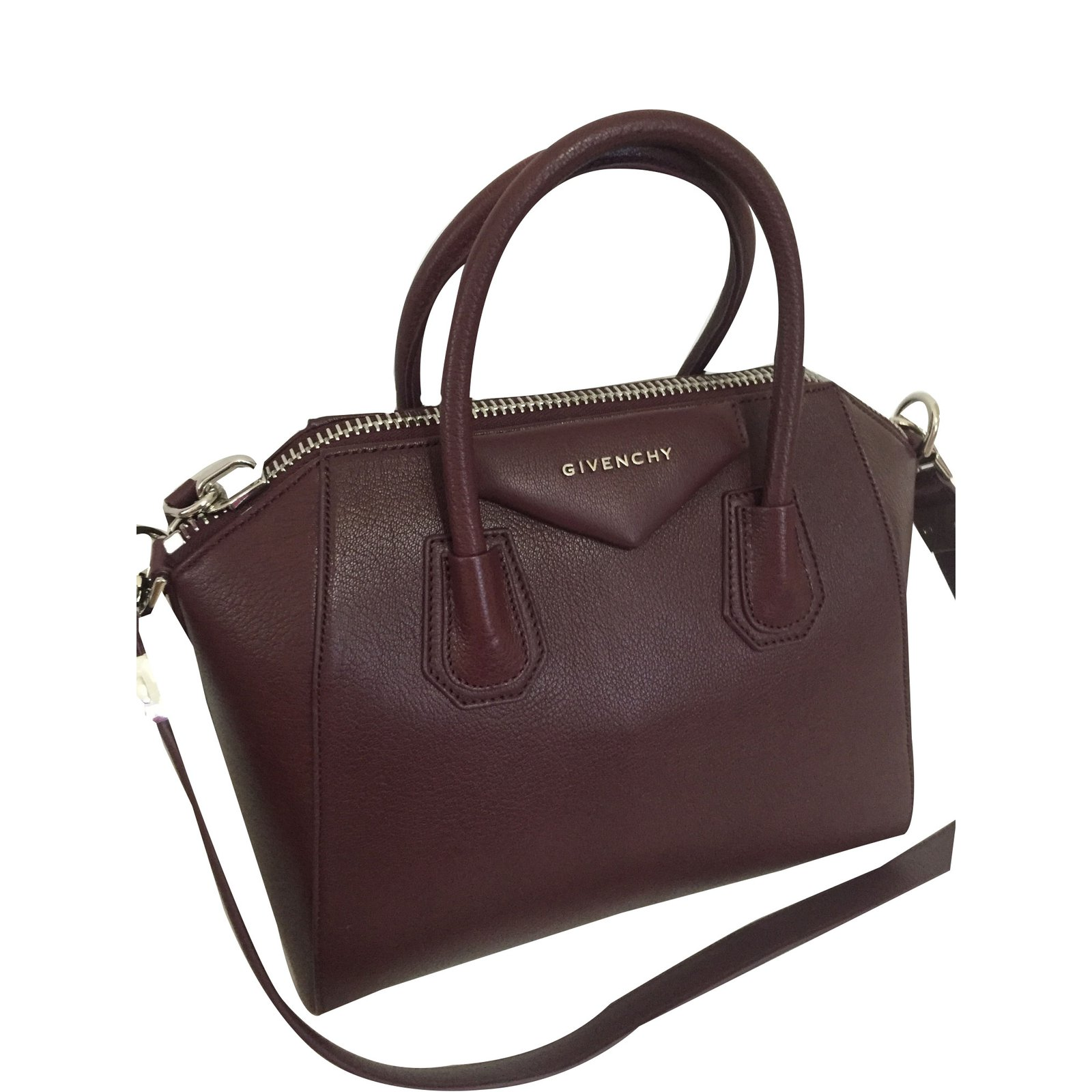 sacs main givenchy sacs main cuir marron joli closet. Black Bedroom Furniture Sets. Home Design Ideas