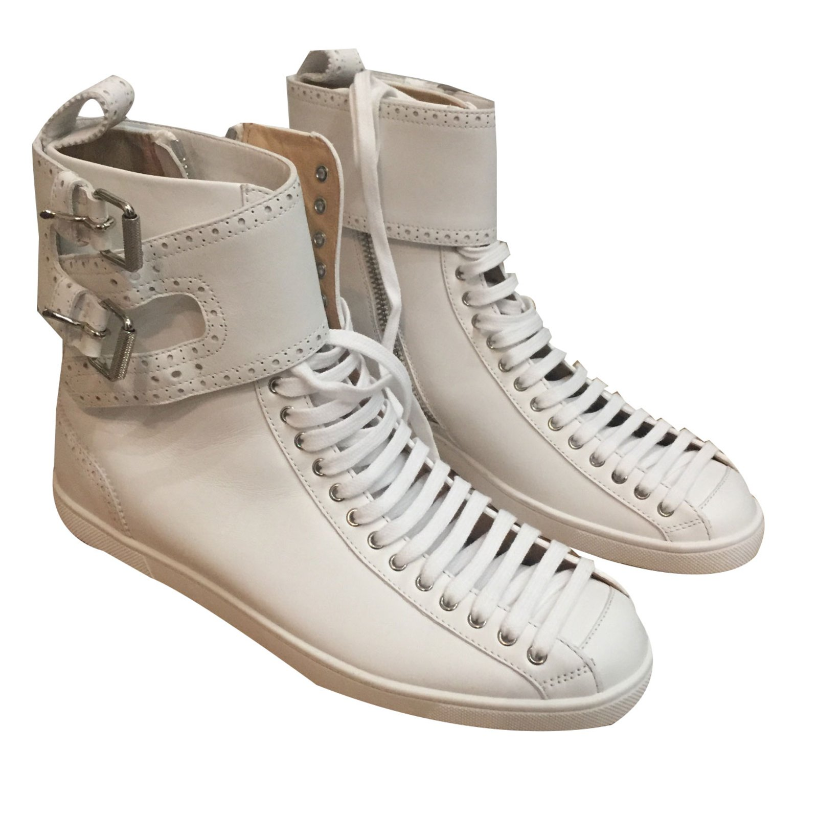 c4230b75cbc3 ... cheap christian louboutin sneakers sneakers leather white ref.32135  795c4 06c74