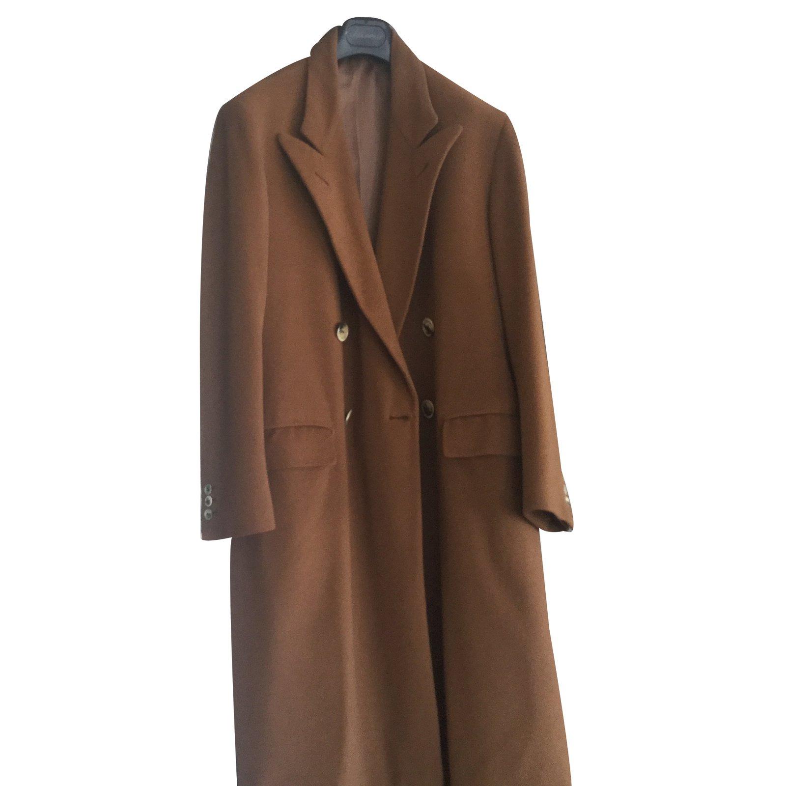 manteaux homme loro piana manteau crois vigogne cachemire cognac joli closet. Black Bedroom Furniture Sets. Home Design Ideas