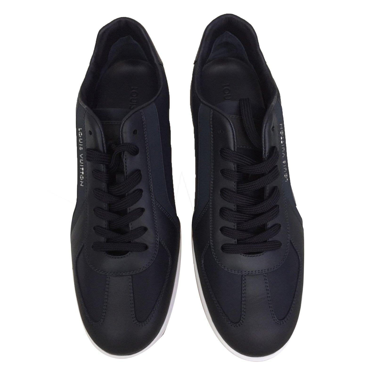 baskets homme louis vuitton basket pulse sneakers cuir. Black Bedroom Furniture Sets. Home Design Ideas