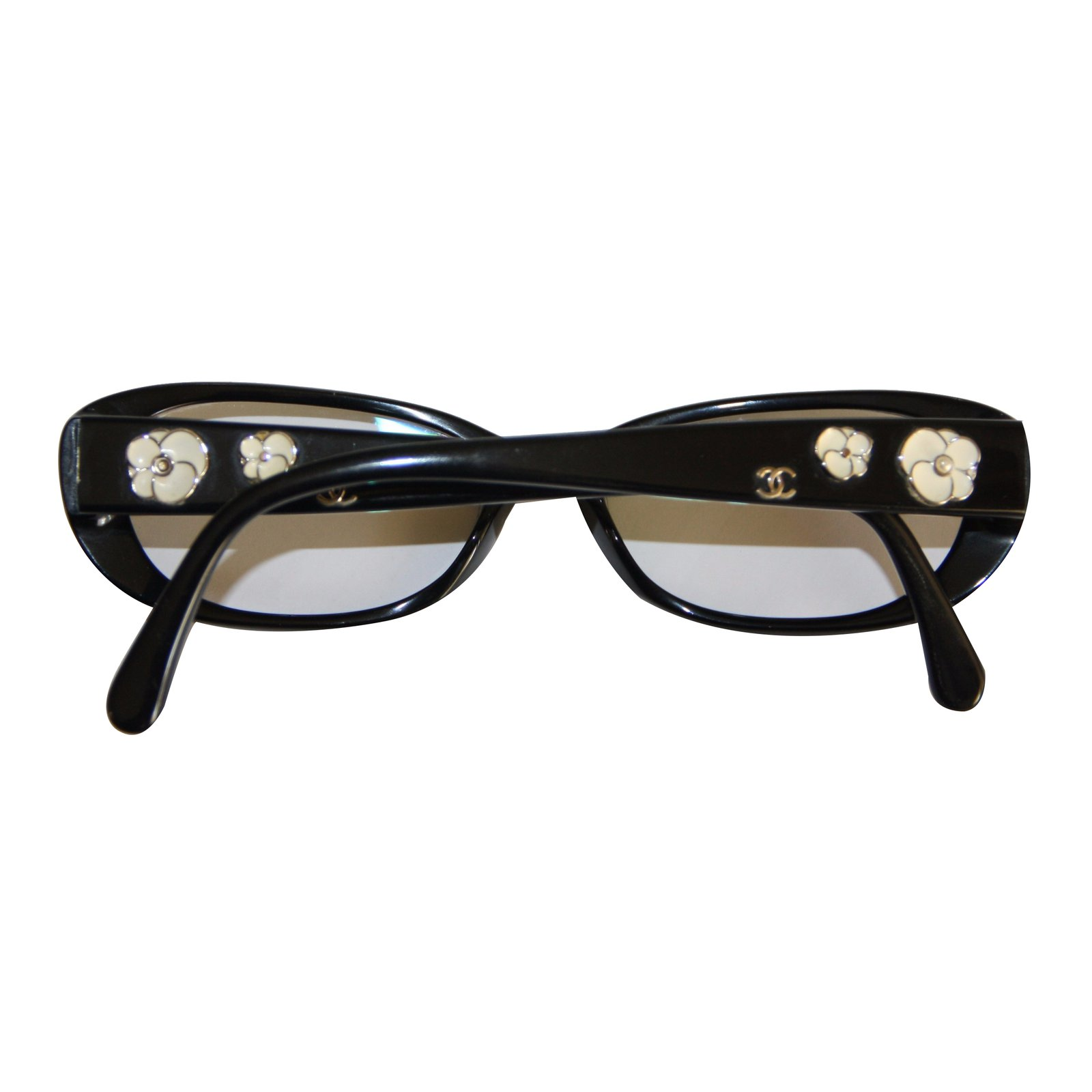 Reading Glasses Sunglasses  chanel chanel reading glasses sunglasses plastic black white ref