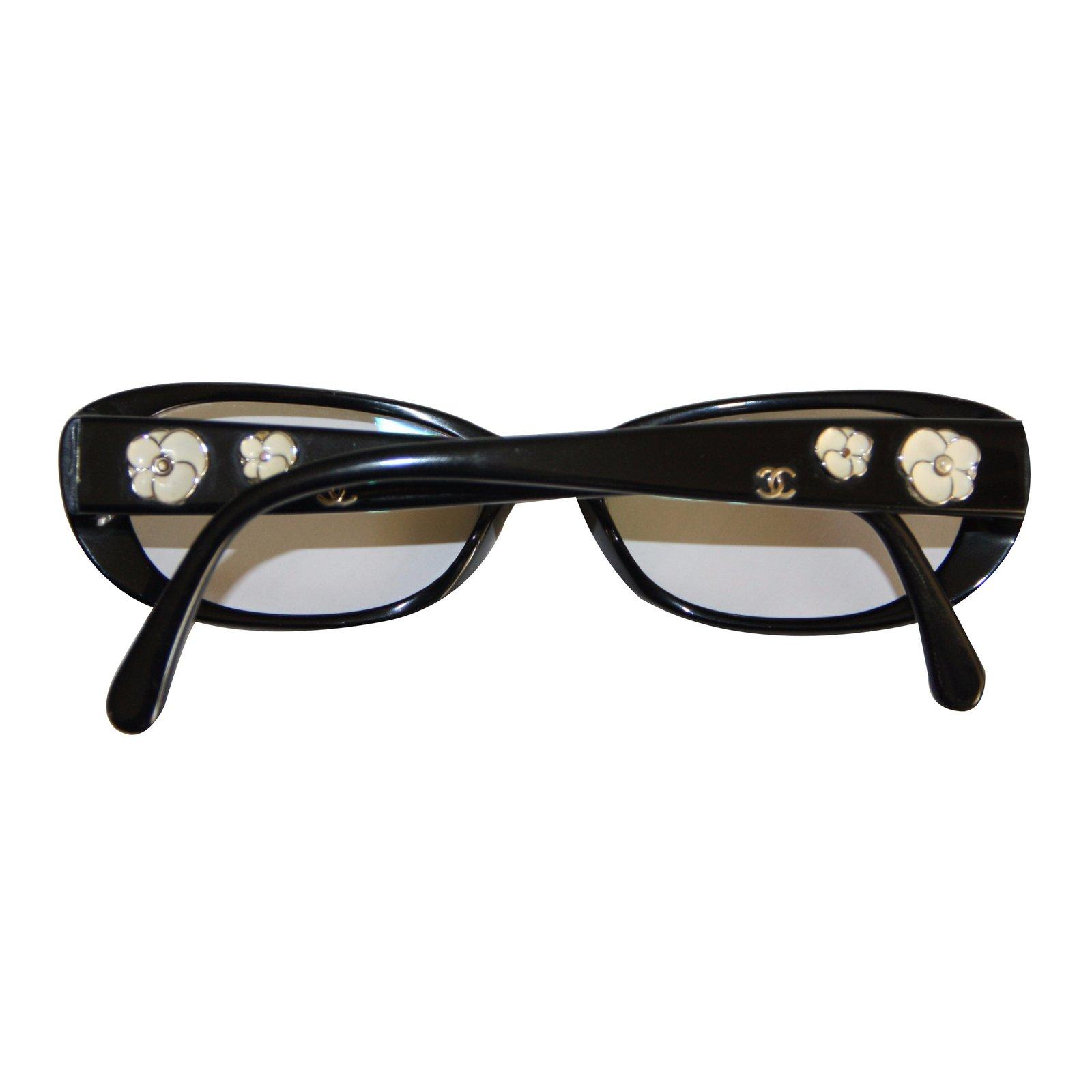 Reading Glasses Sunglasses  chanel chanel reading glasses sunglasses plastic black white ref