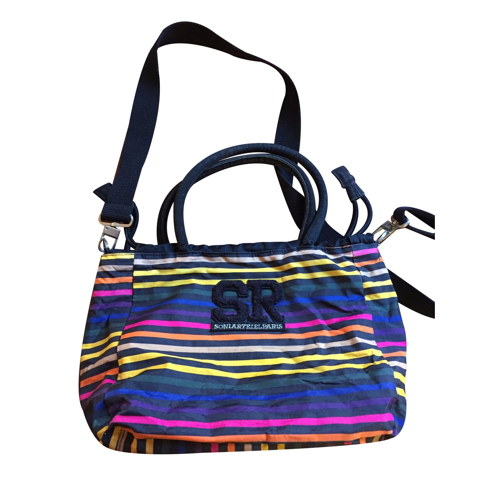 370c76b652 Sonia Rykiel Handbag Handbags Cloth Multiple colors ref.33154 - Joli ...