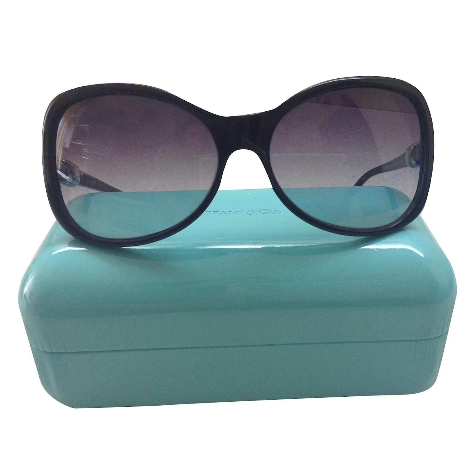 488ec877e0 Tiffany & Co Sunglasses Sunglasses Plastic Black ref.34015 - Joli Closet