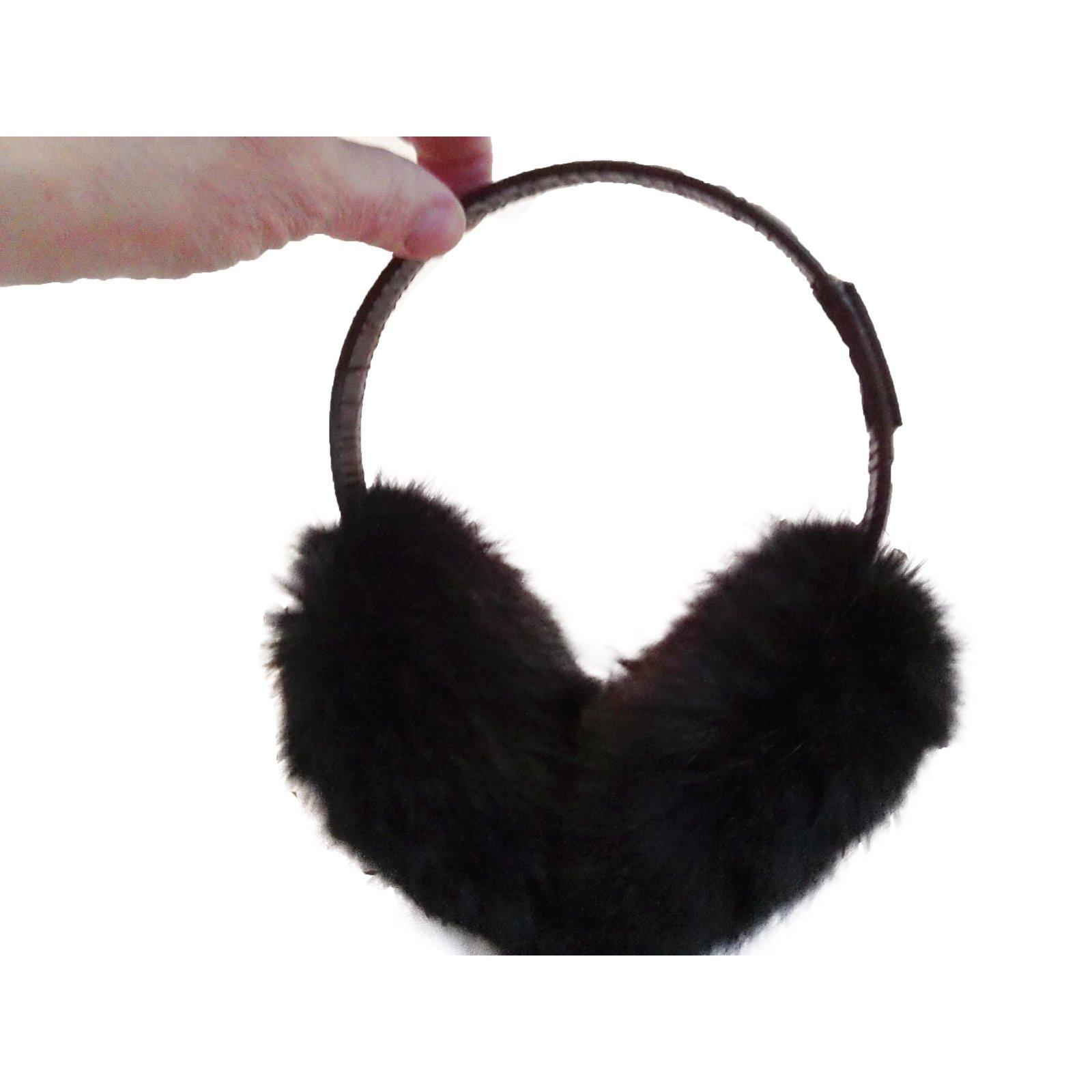 Moncler Hat Hats Fur Black ref.34127 - Joli Closet d20ad627425