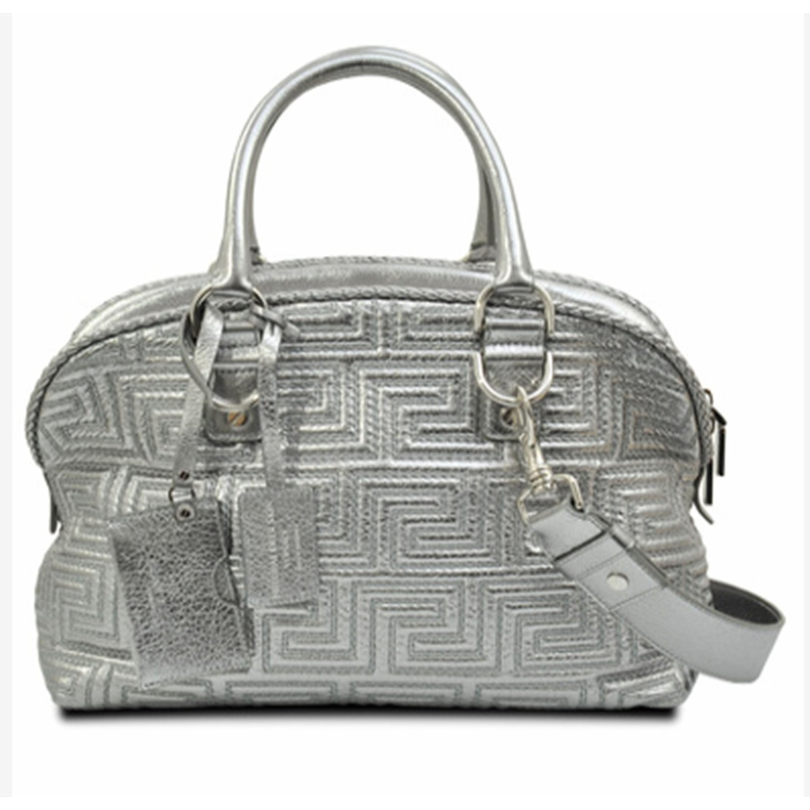 b39ed1a478 Gianni Versace Handbag Handbags Leather Grey