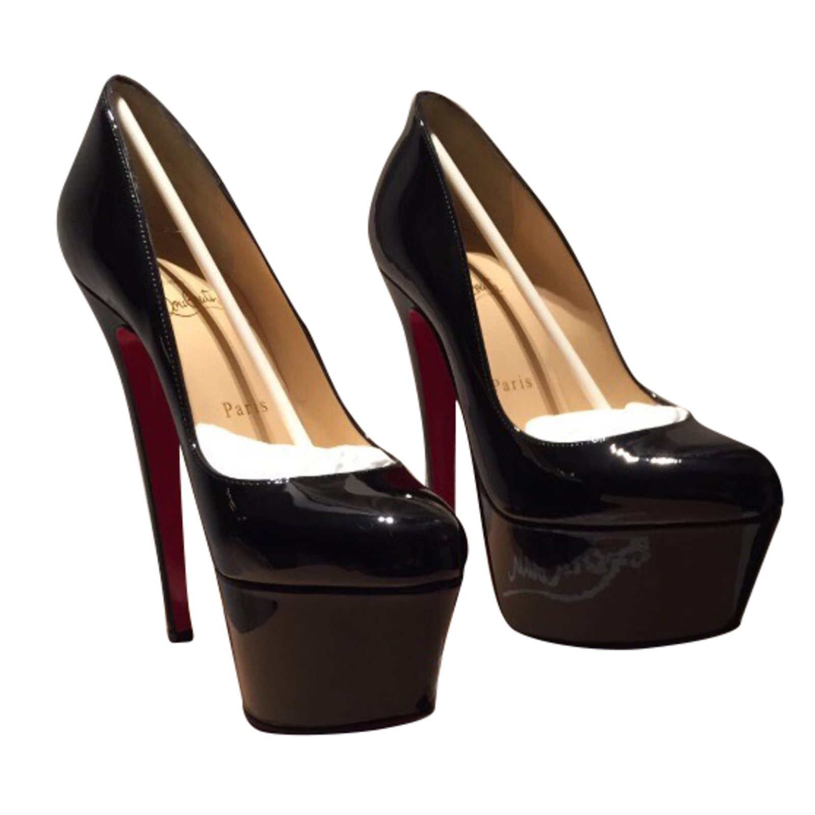 christian louboutin victoria patent leather