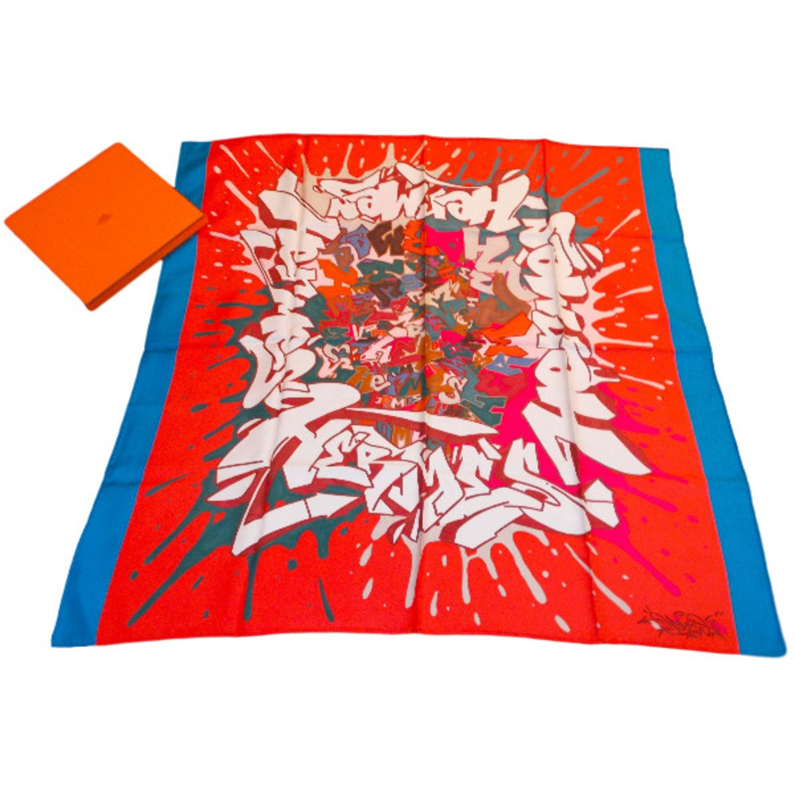 a5ad838481ea Carrés Hermès Graff Soie Multicolore ref.34812 - Joli Closet