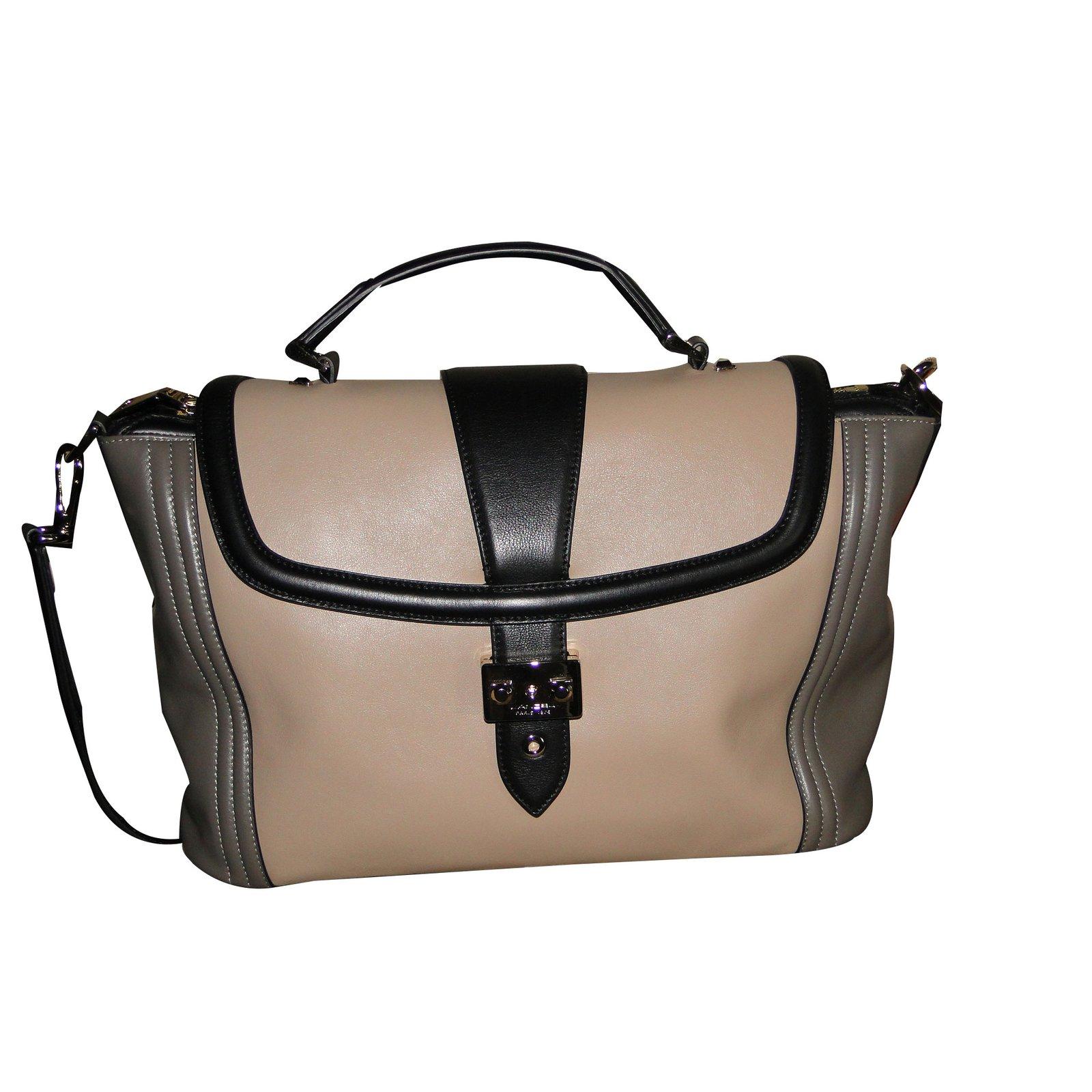 af24c0149c1b Lancel Beige Handbag GFtlHU4Zl9 - zanarasabina.com
