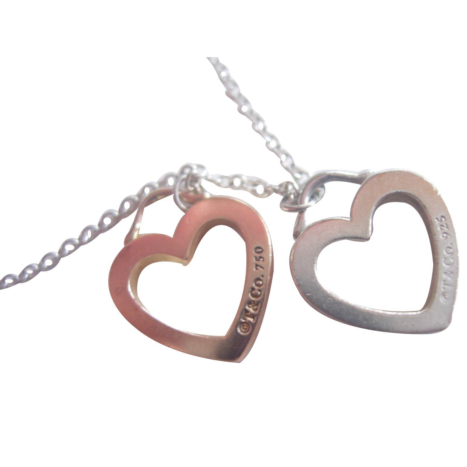Tiffany co pendant necklace pendant necklaces silveryellow gold tiffany co pendant necklace pendant necklaces silveryellow gold silverygolden ref aloadofball Gallery