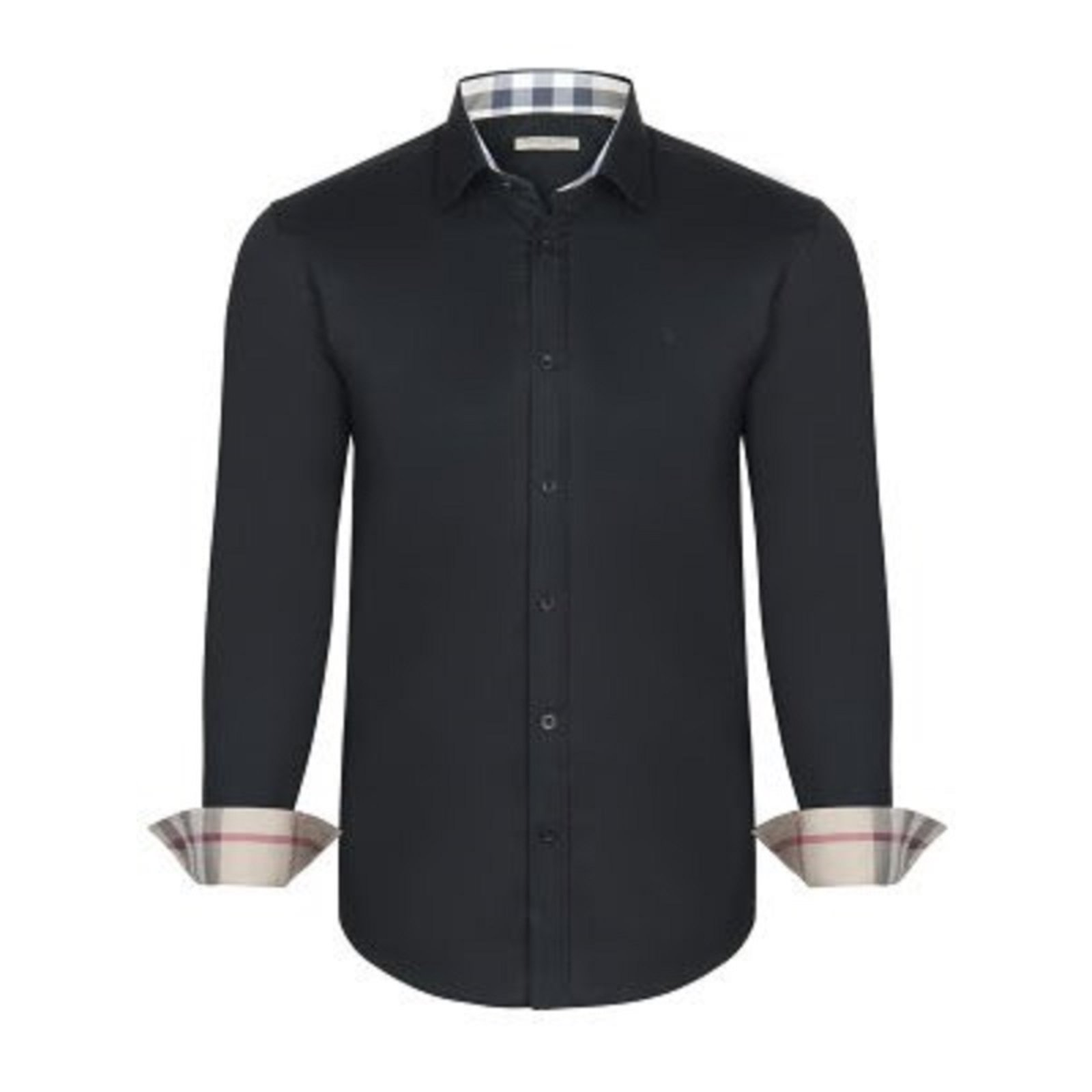 black and white burberry shirt