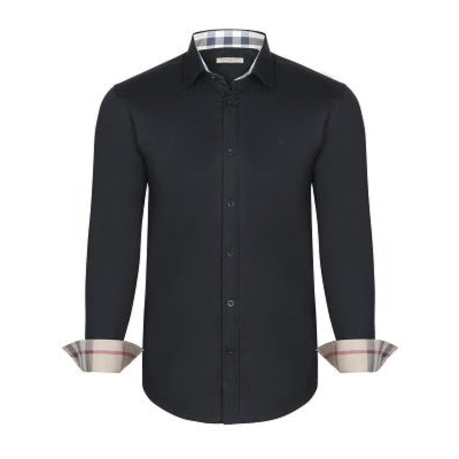 Black Burberry Dress Shirt