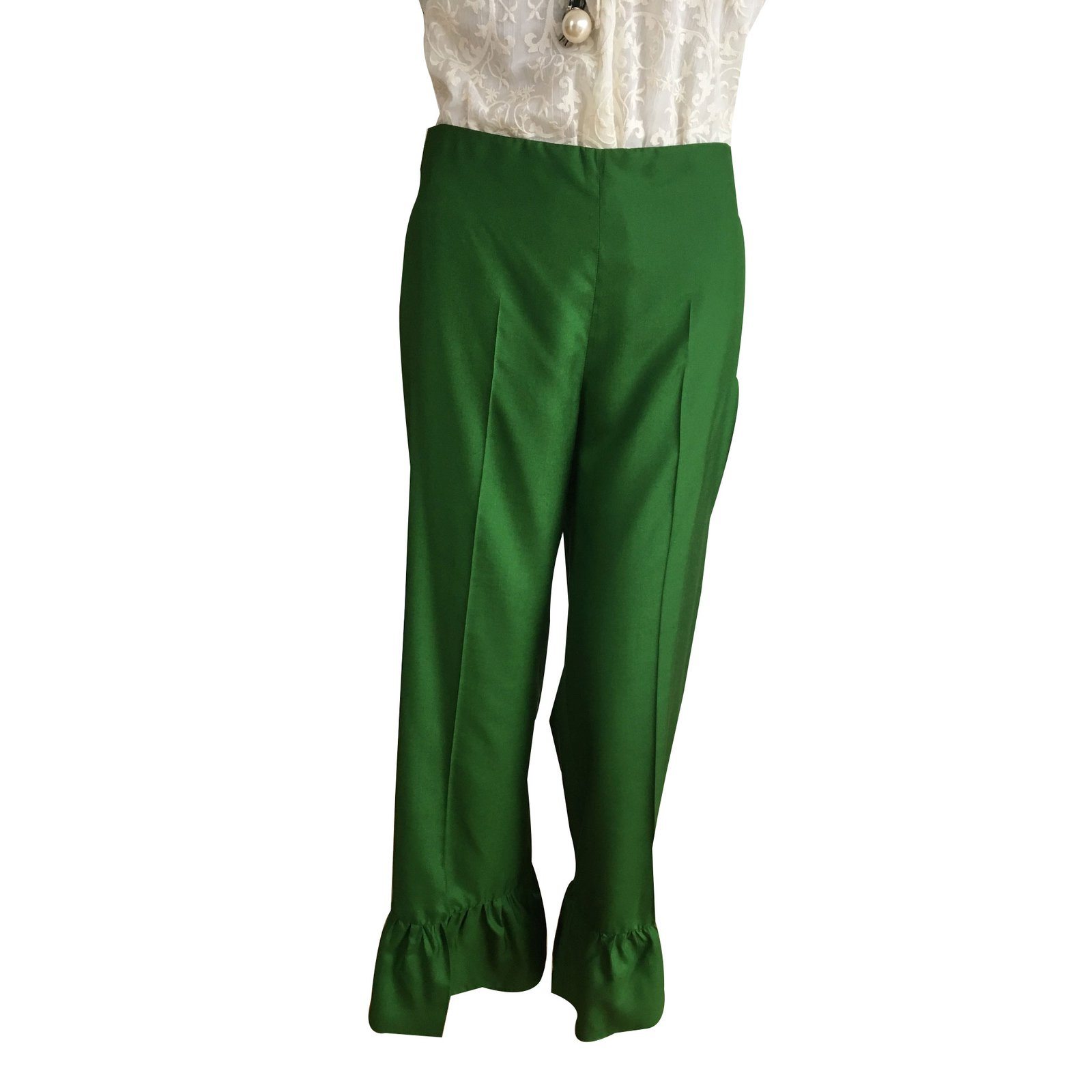 gucci pants. gucci pant, legging pants, leggings silk green ref.35501 pants