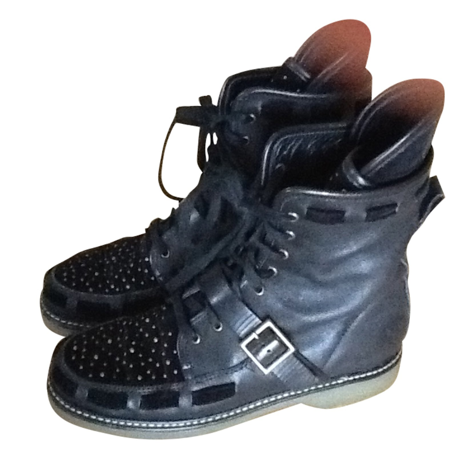 purchase cheap outlet special for shoe See by Chloé Boots Boots Leather Black ref.36090 - Joli Closet
