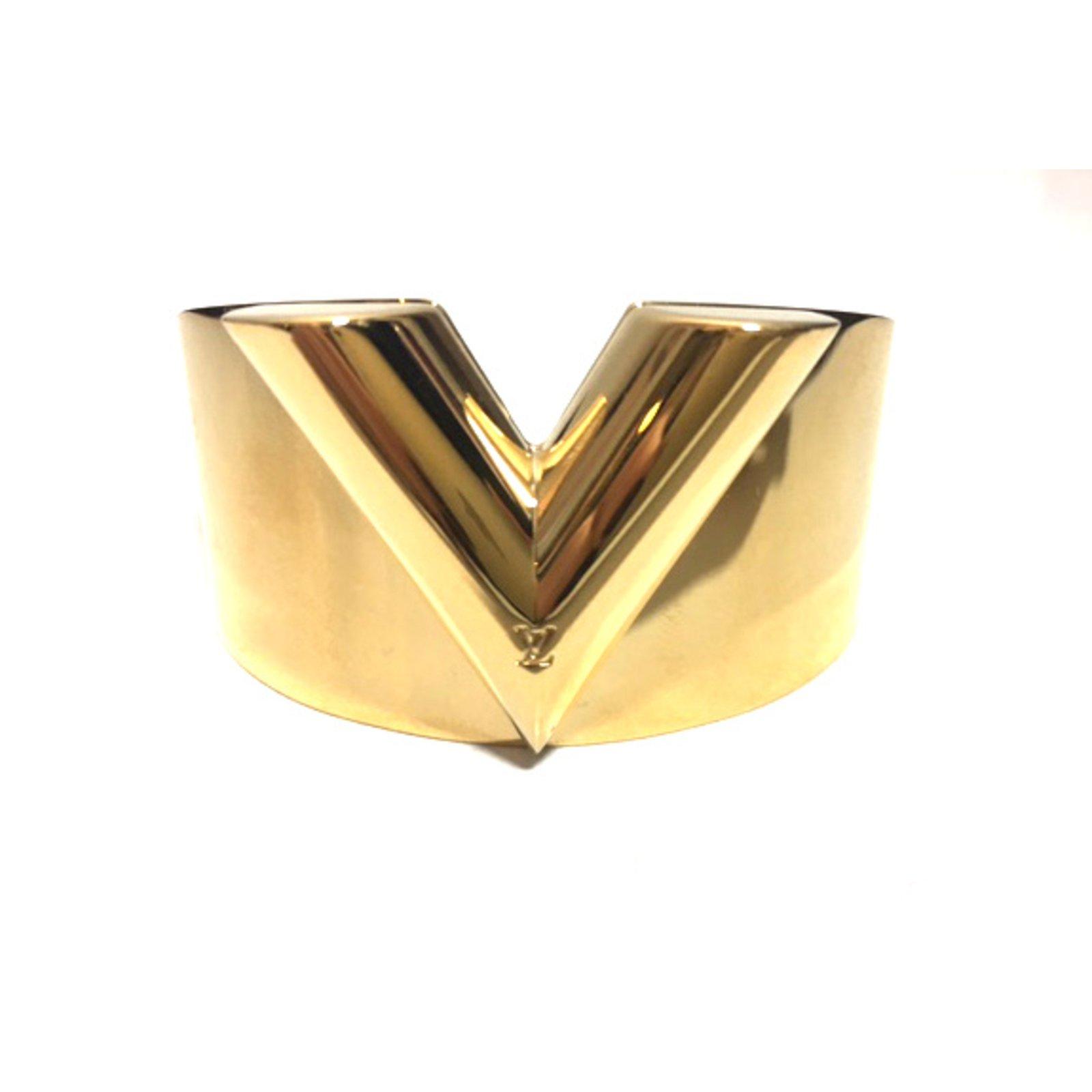 Louis Vuitton Bracelet Bracelets Metal Golden Ref 36424
