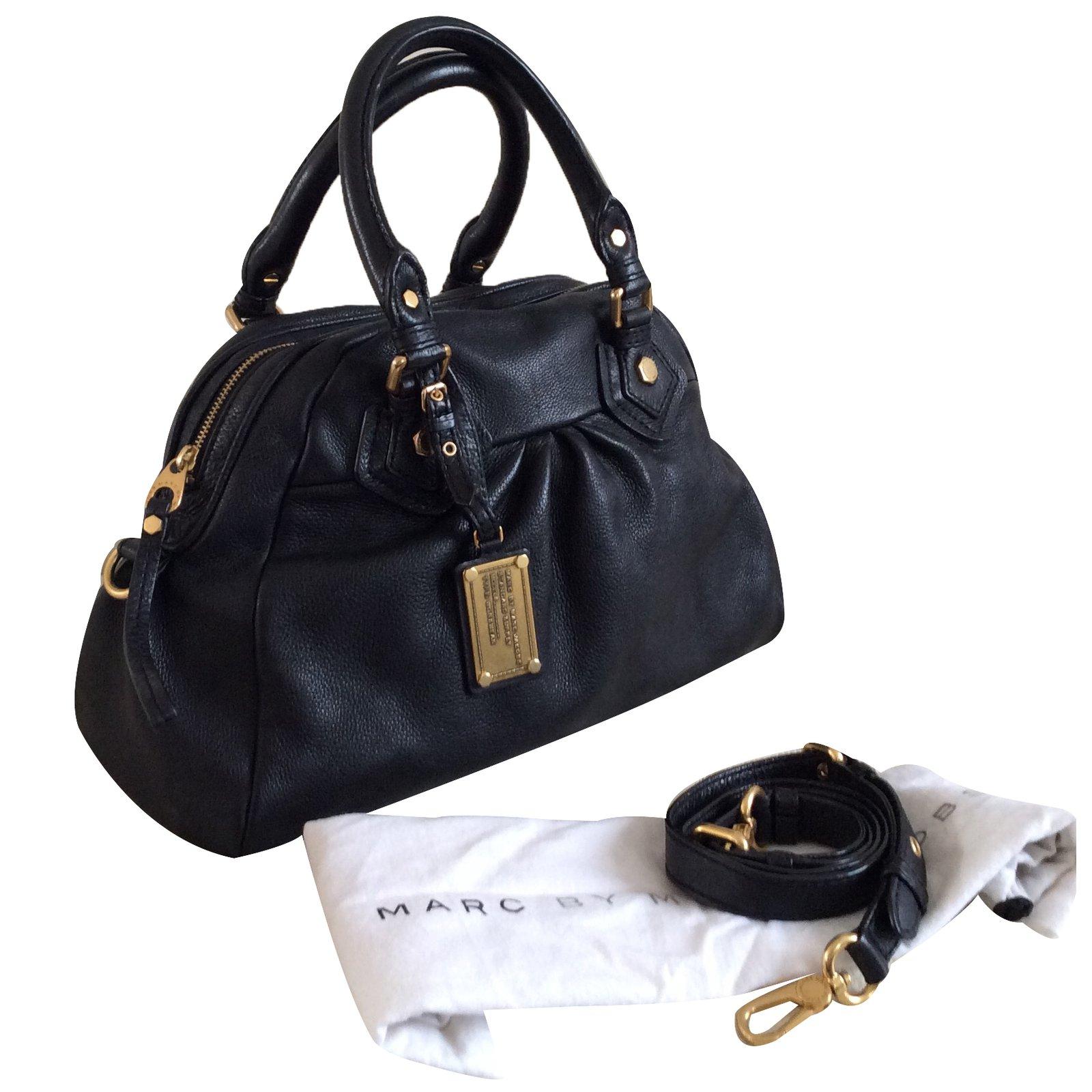 8b97f431fea Marc by Marc Jacobs Handbags Handbags Leather Black ref.36429 - Joli ...