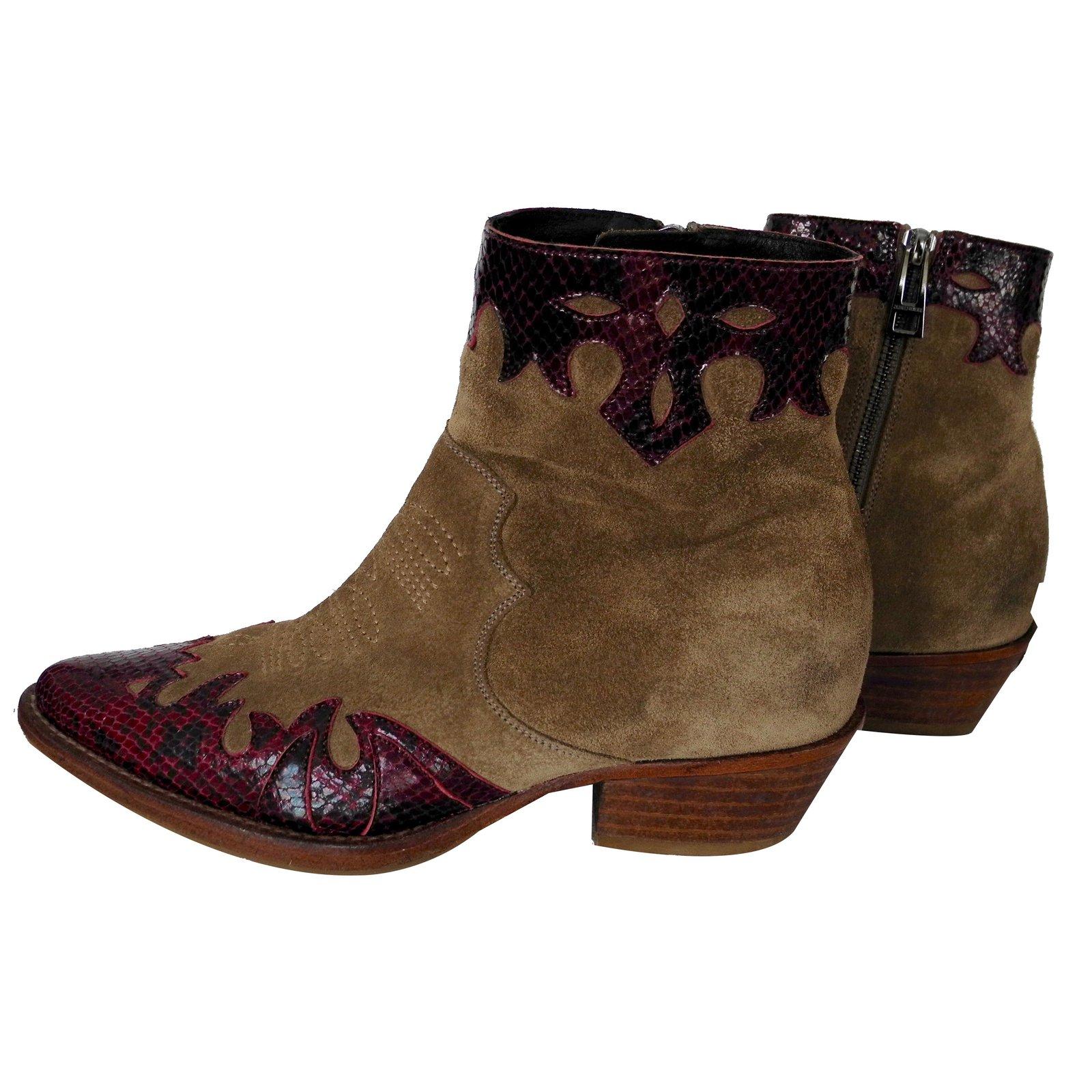 achat spécial hot-vente plus récent nouveaux produits chauds Boots santiag zadig et voltaire