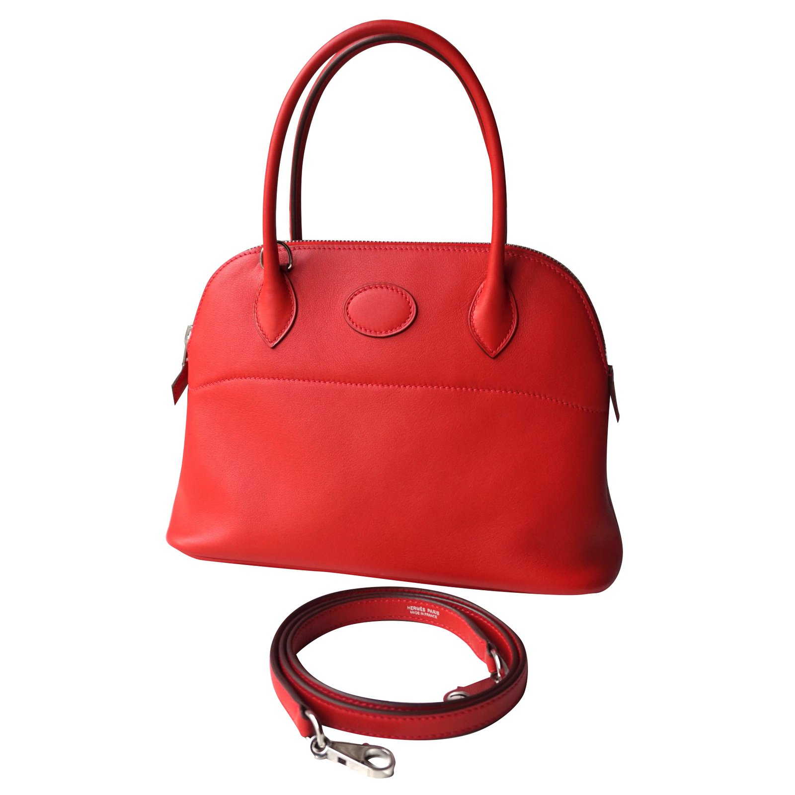a35b9f9a35ef ... where can i buy hermès bolide 27 handbags leather red ref.36787 3a91f  63310