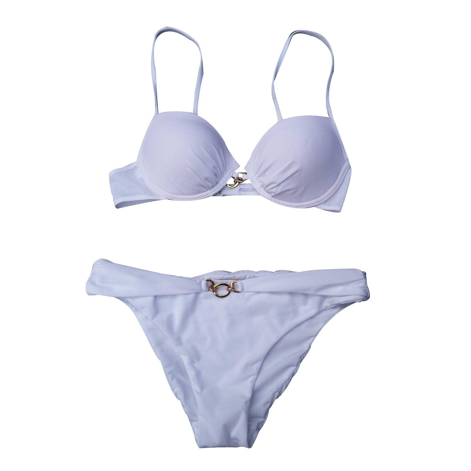 v tements de bain la perla maillot de bain blanc 2. Black Bedroom Furniture Sets. Home Design Ideas