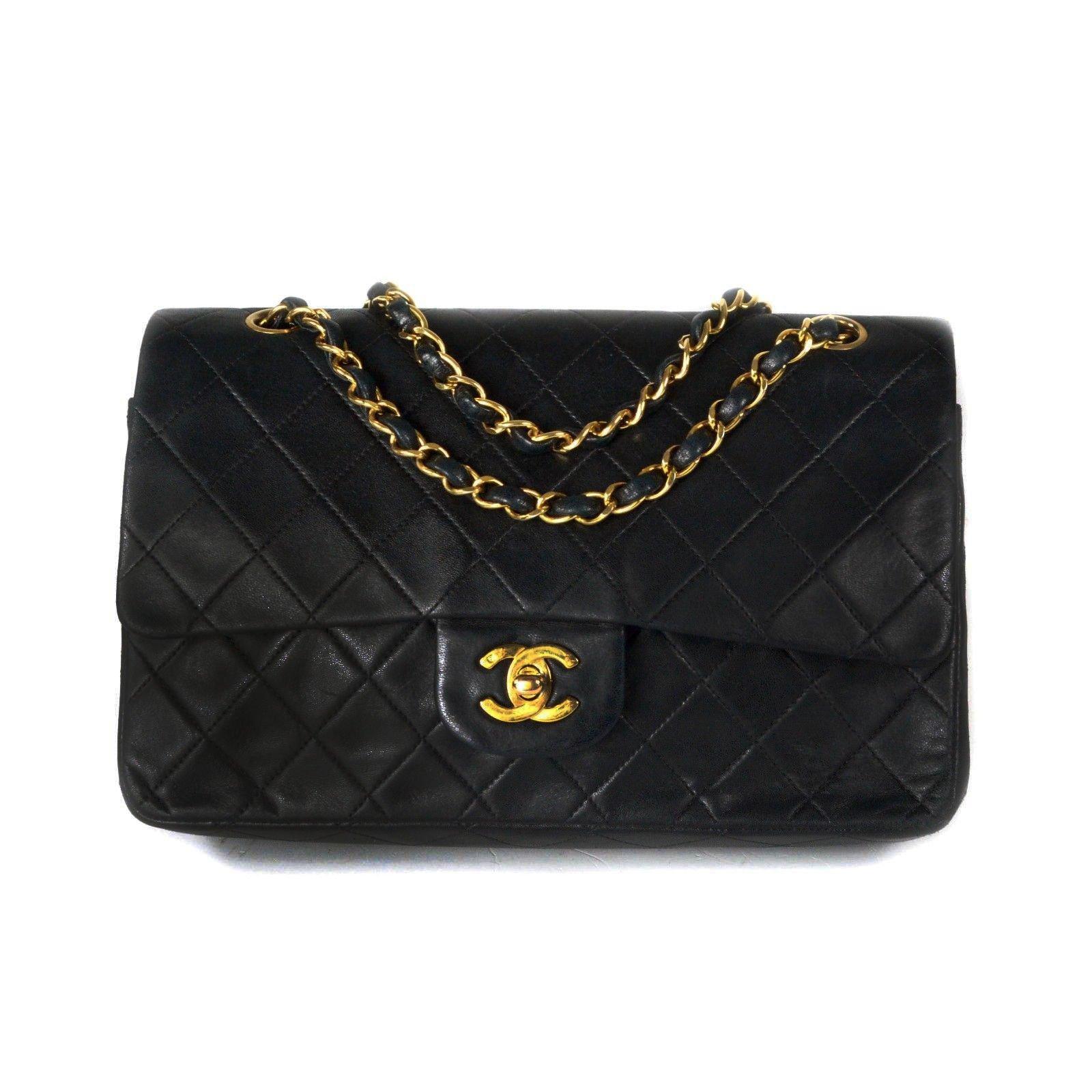sac chanel noir classique 488af220084