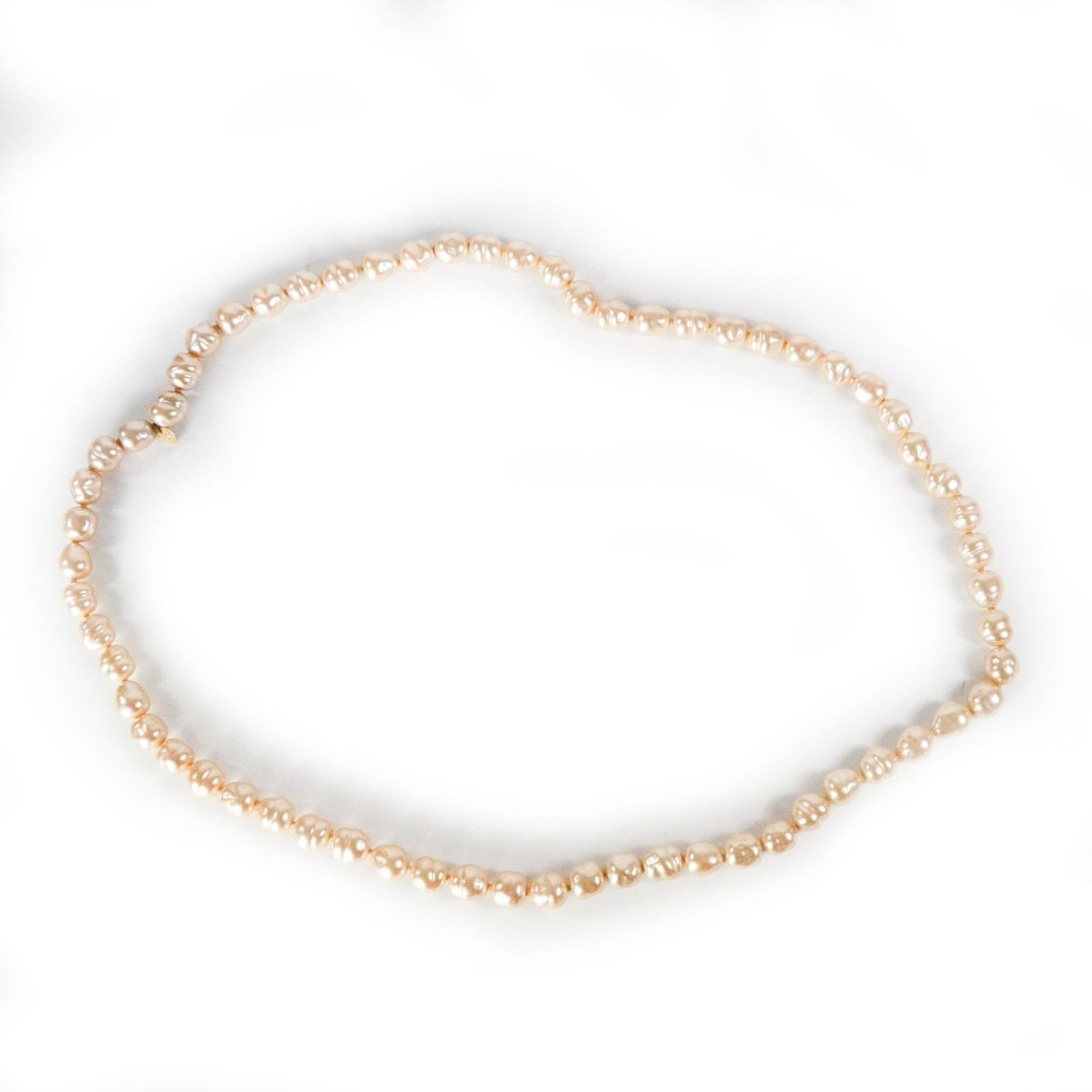 79095ea2fe2 Colliers Chanel Collier de perles Vintage Perle Blanc ref.37195 ...