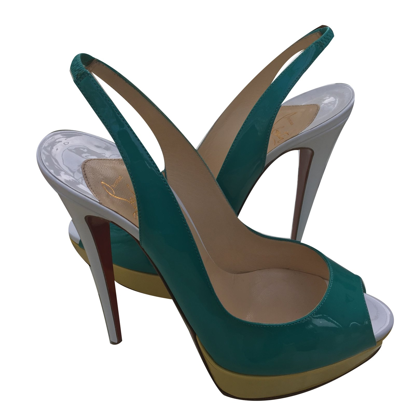f49185715974 Christian Louboutin Heels Heels Patent leather Multiple colors ref.37278