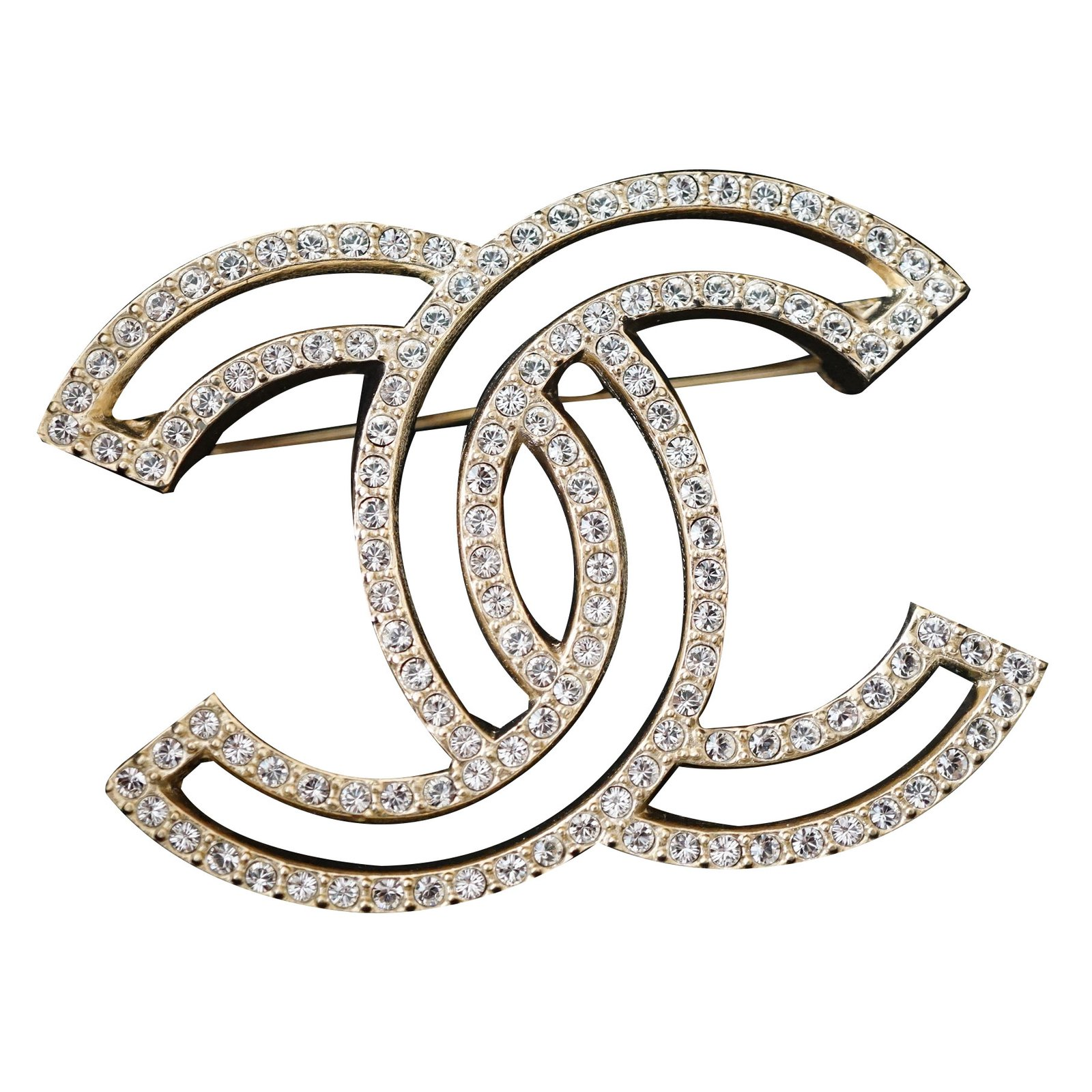cc chanel img leather pearls brooch channel product and new