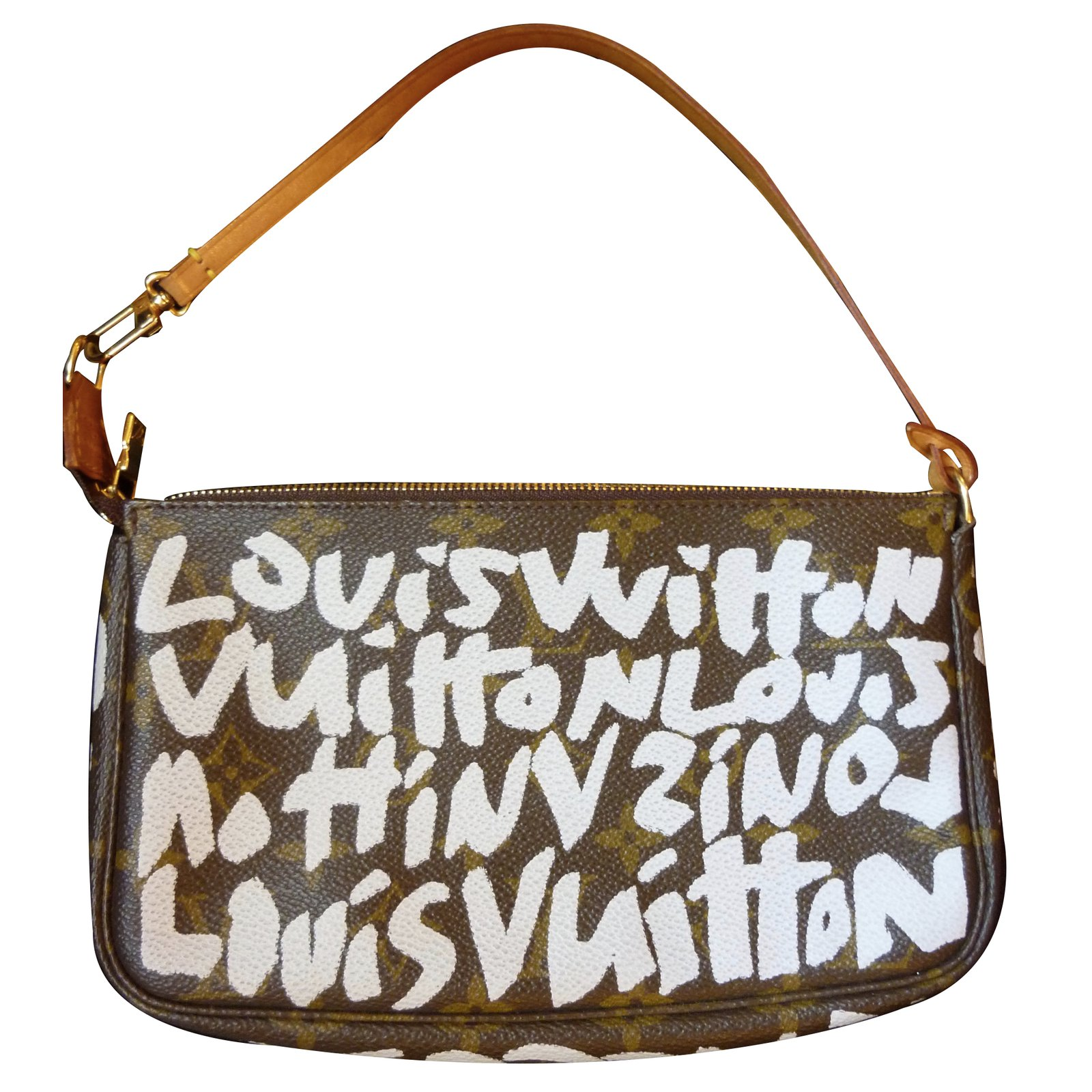 1f9ea1773928 Louis Vuitton Graffiti limited edition Clutch bags Leather