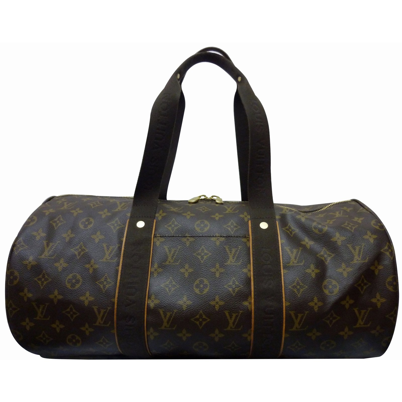 louis vuitton sporty beaubourg collector travel bag cloth brown ref