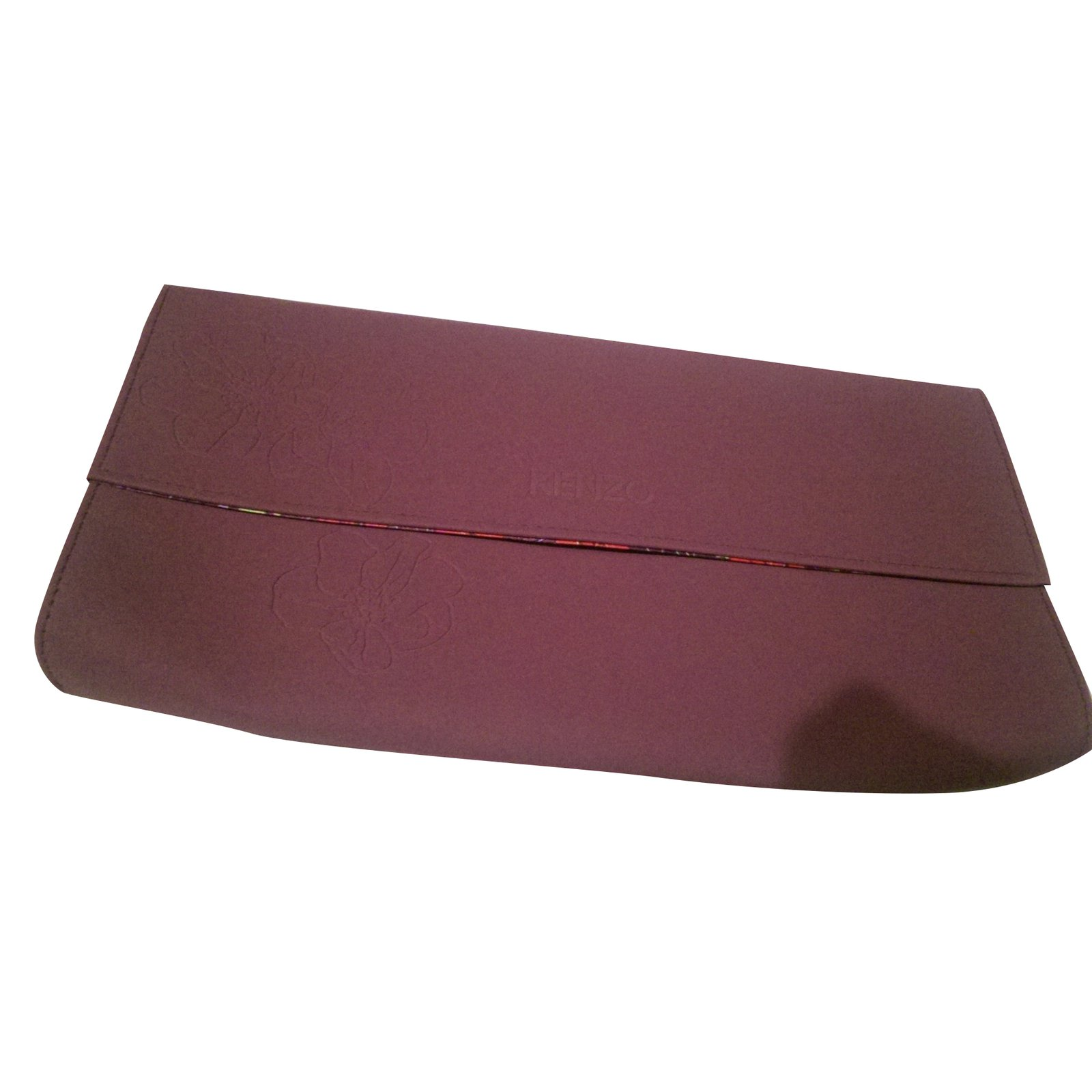 pochettes kenzo pochette de soir e tissu autre joli closet. Black Bedroom Furniture Sets. Home Design Ideas