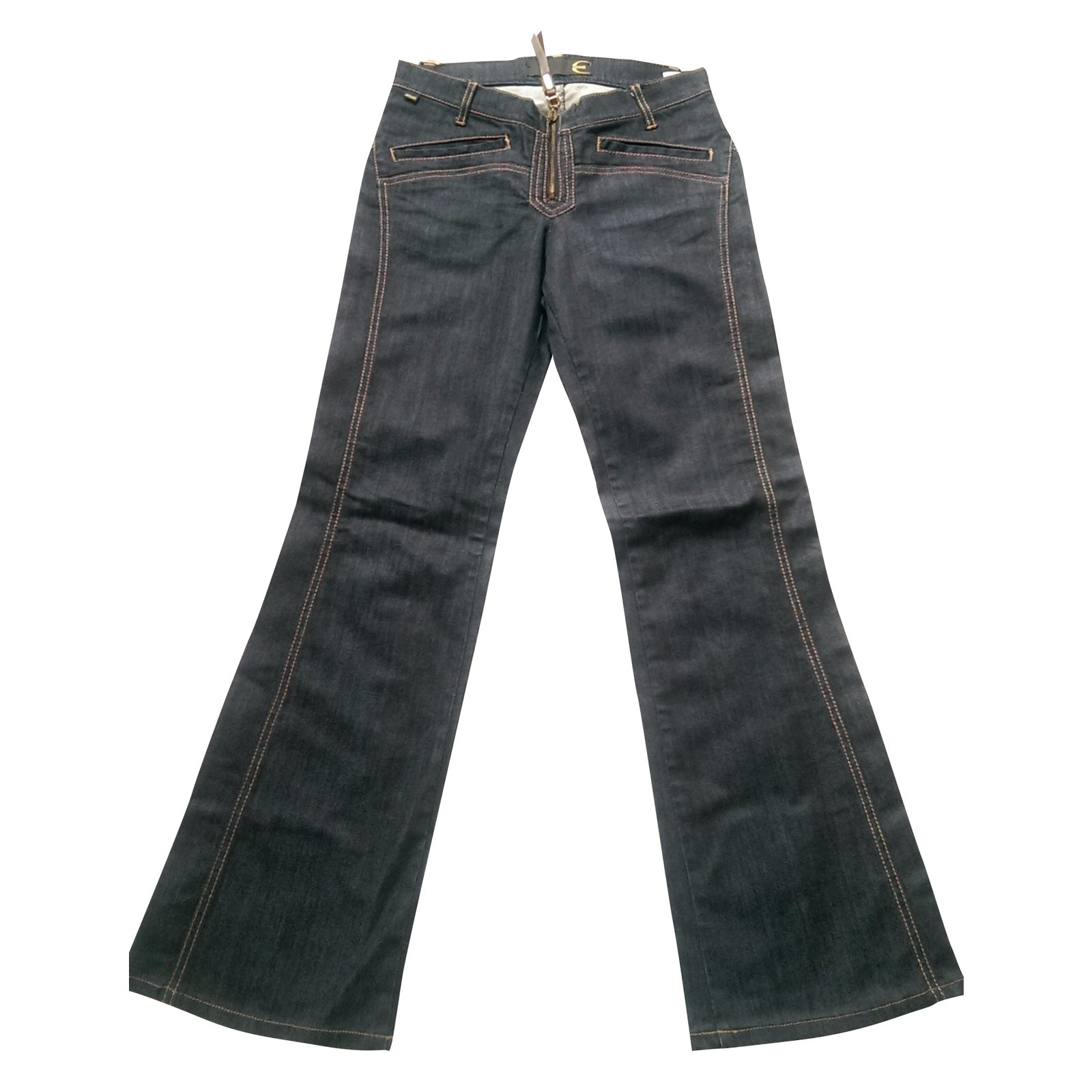 jeans just cavalli jeans coton elasthane bleu joli closet. Black Bedroom Furniture Sets. Home Design Ideas