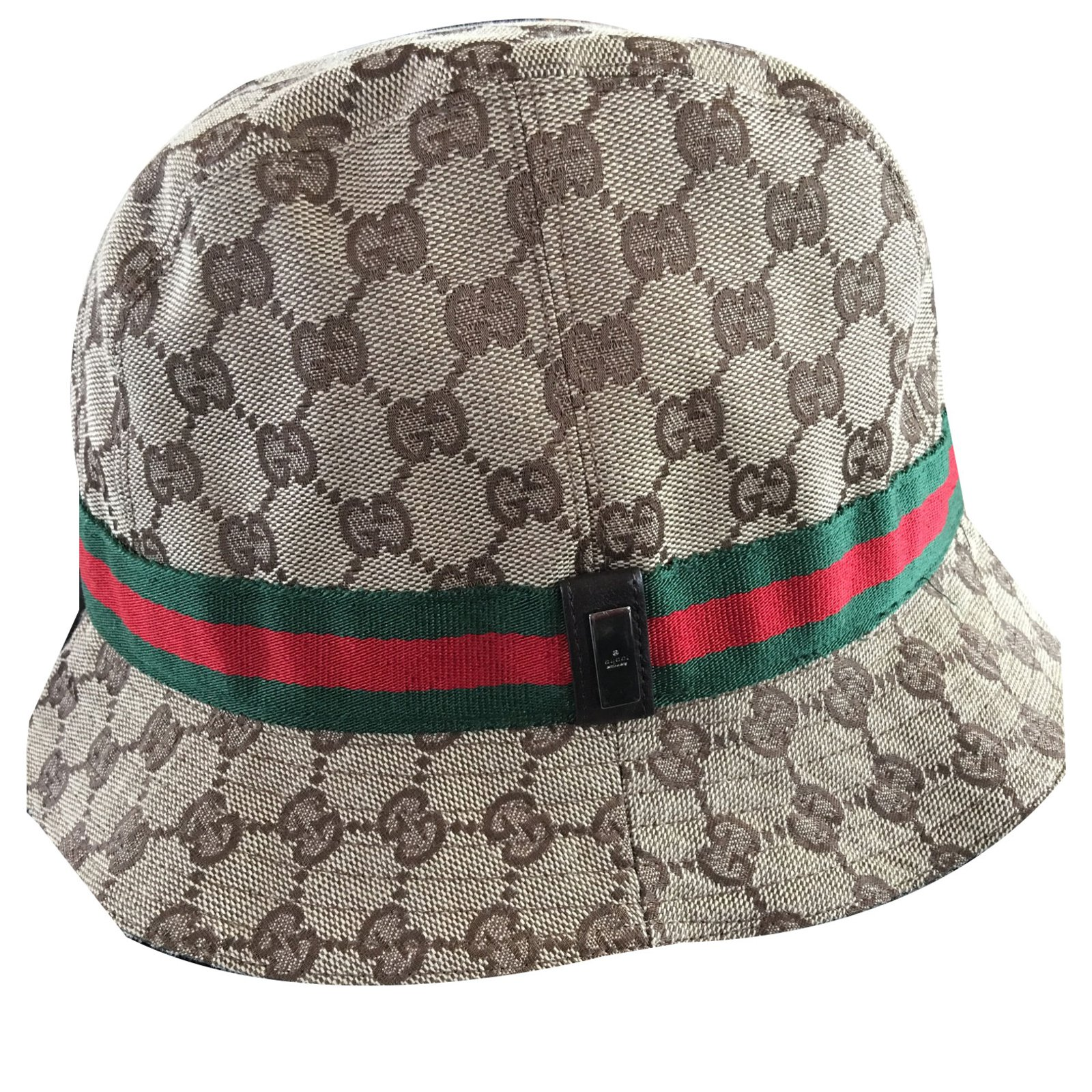 5d14fbedaa4 Gucci Hat Beanie Hats Beanies Cotton Brown ref.39584 - Joli Closet