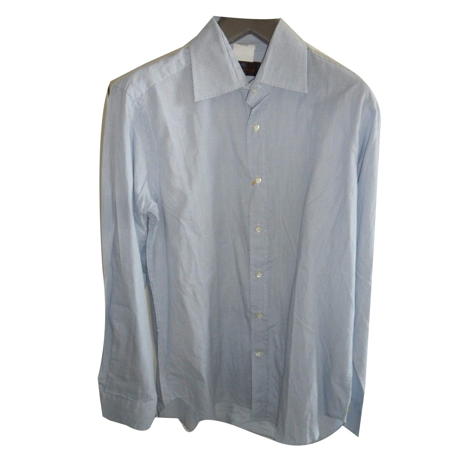 Etro etro new men 39 s shirt with parrot print shirts cotton for Etro men s shirts