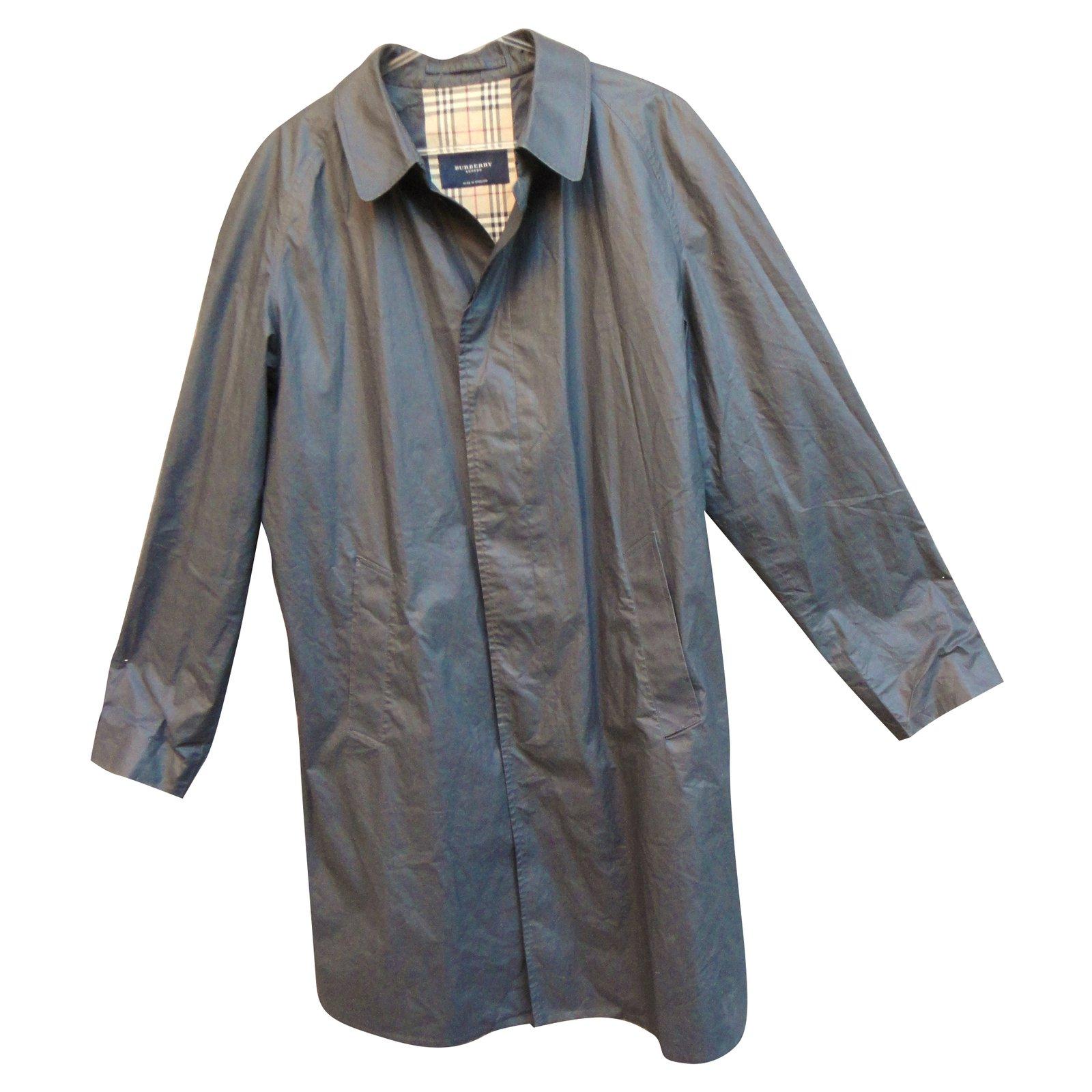 Anthracite Coat Ref Homme Manteaux 40775 Coton Burberry Trench Gris  wFxgwHzPn 560c67c2694