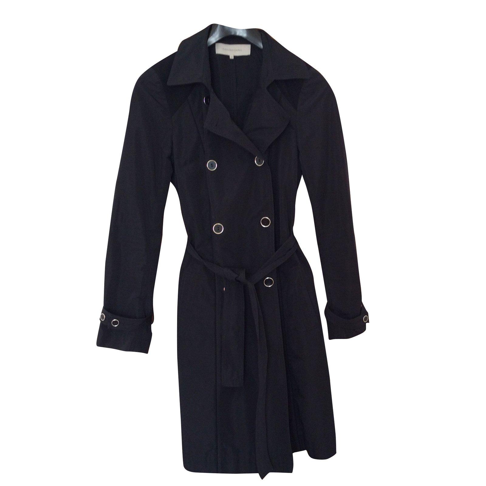 Manteau noir femme gerard darel