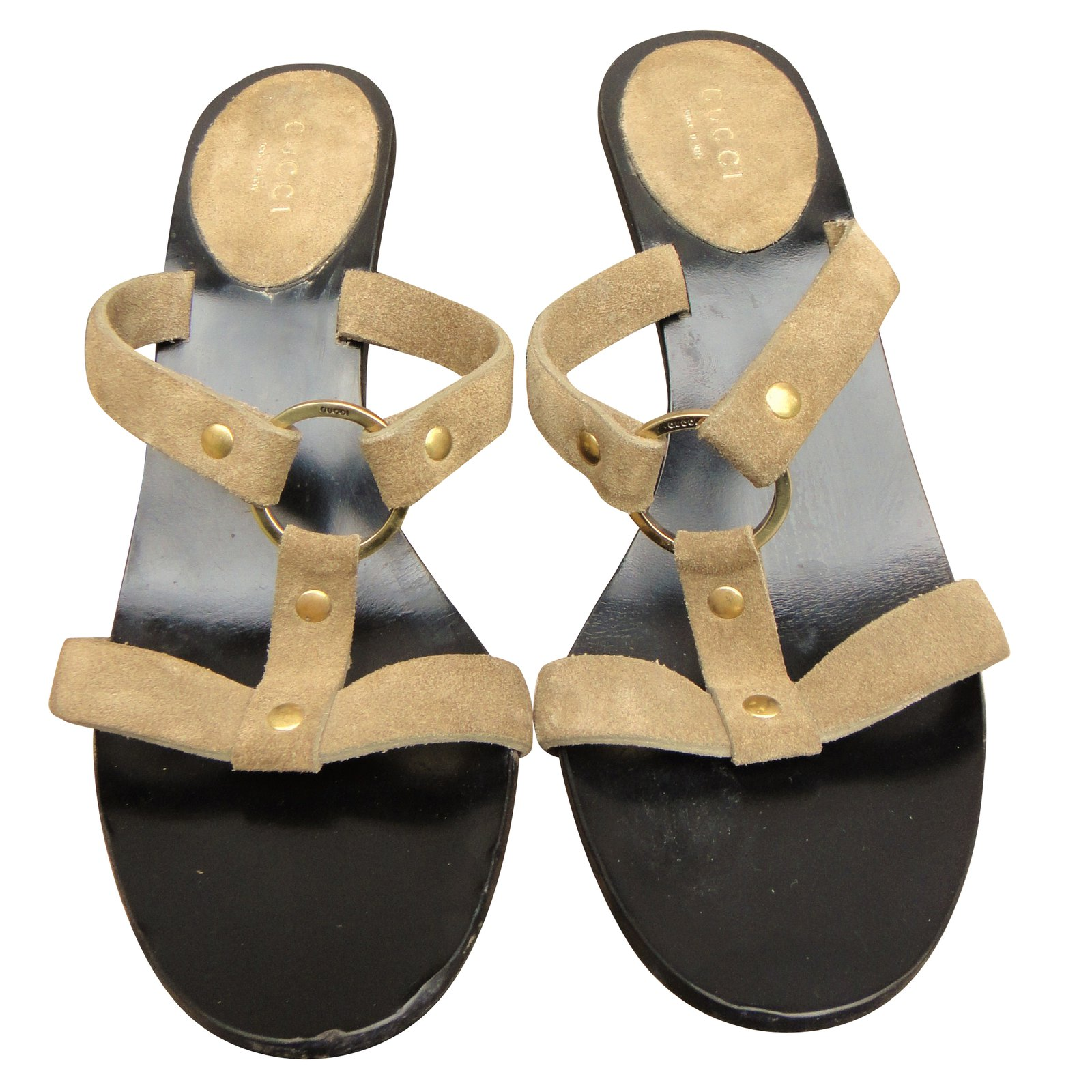 956117f67a79 Gucci Sandals Sandals Leather
