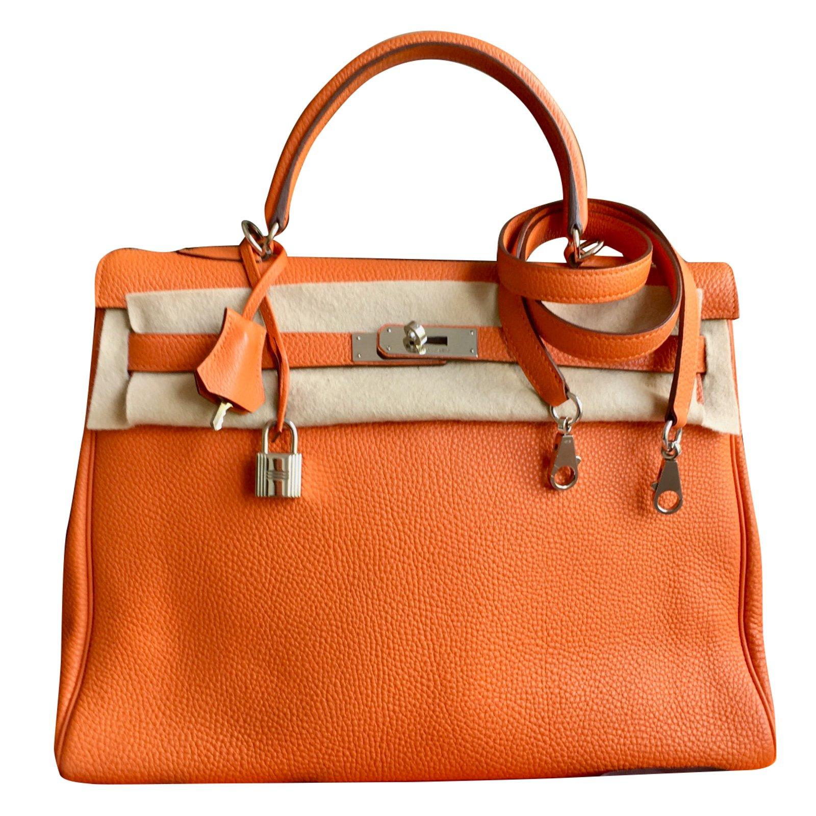 887da5e81476 ... noir cuir exotique 47fc5 06c93 greece hermès kelly 35 cm handbags  leather orange ref.41525 834f1 0861e promo code sac kelly hermes ...