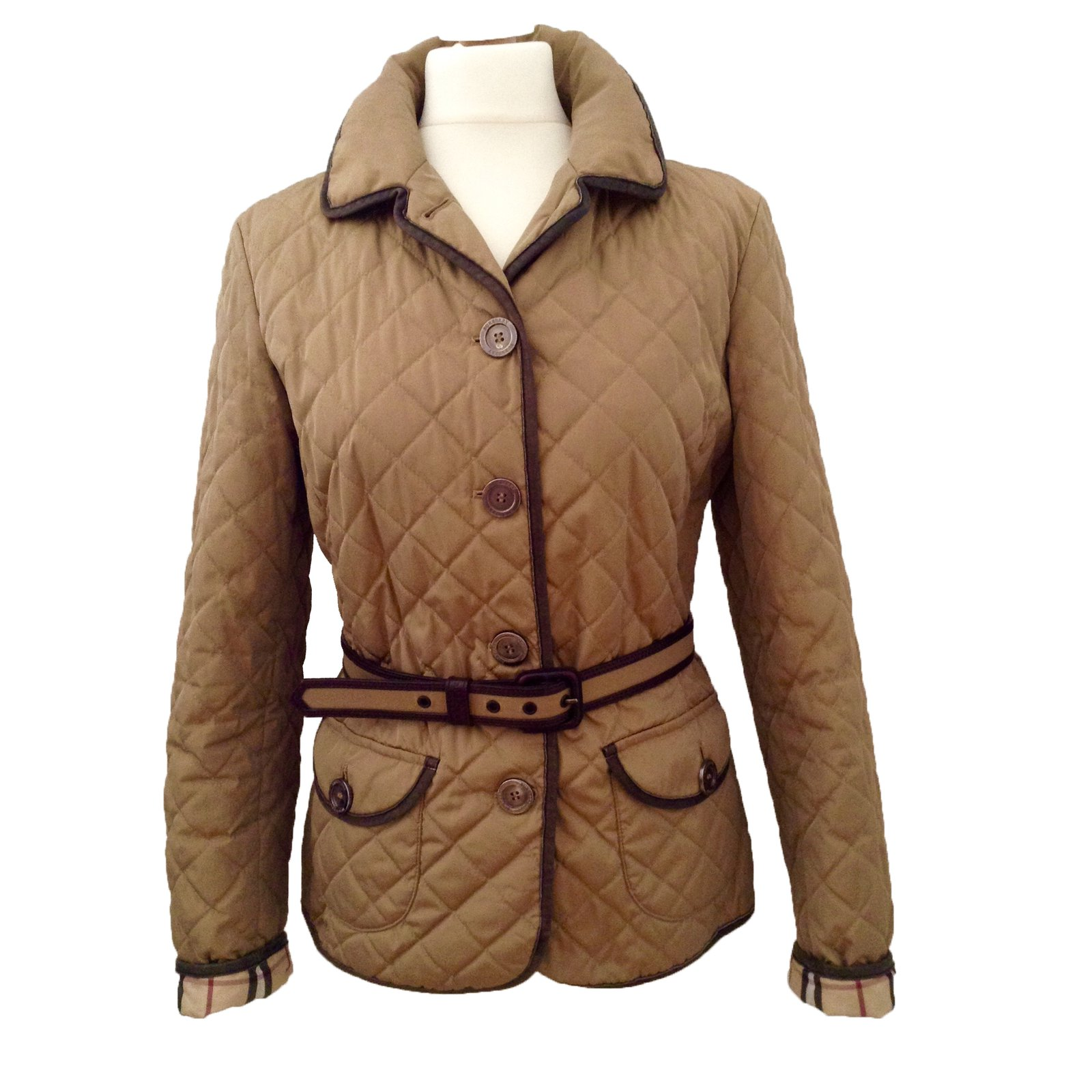 performance sportswear new design new style Burberry Lightweight padded jacket Coats, Outerwear Polyester ...