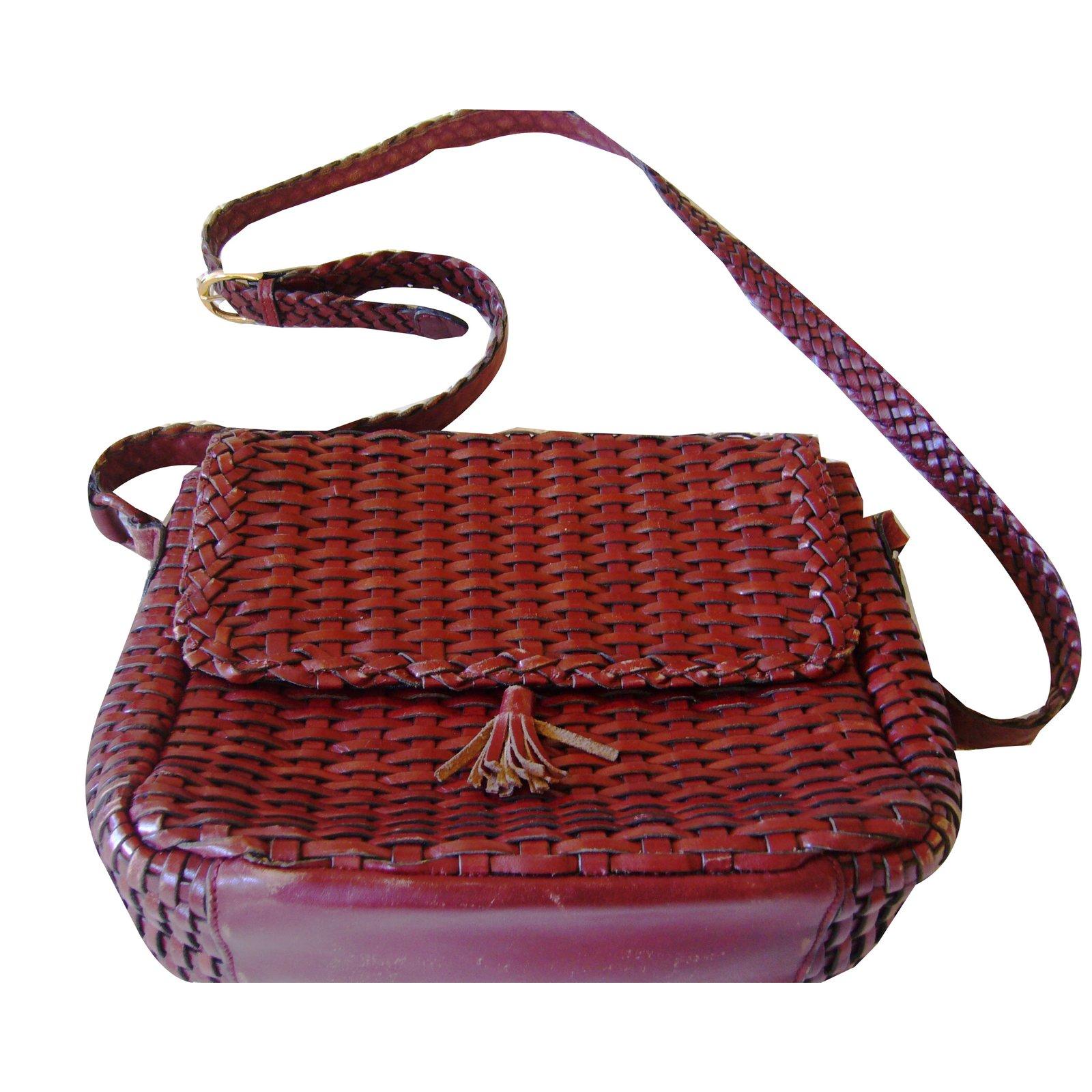Autre Marque Talbots Handbags Leather Chestnut Ref 42017