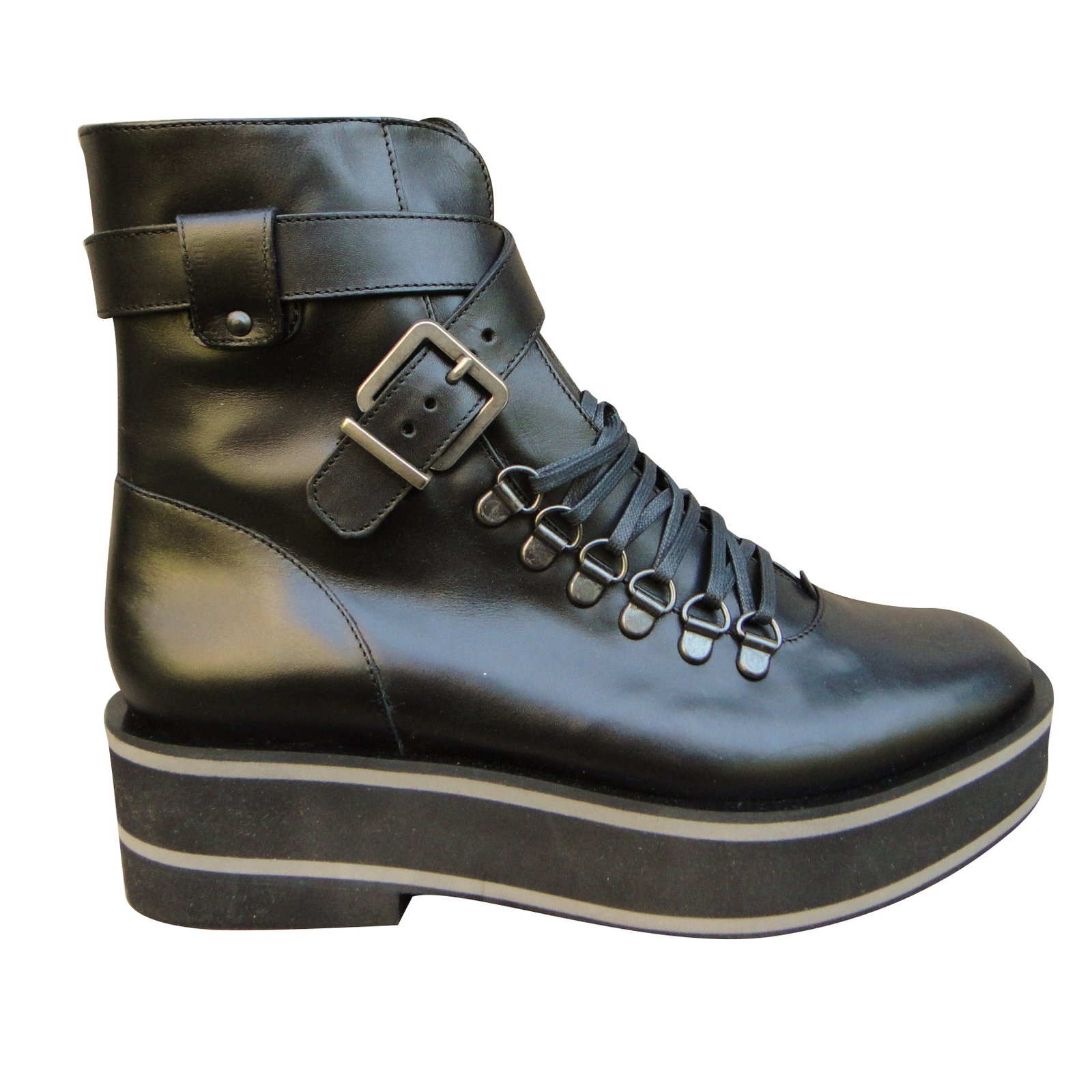 Robert Clergerie Boots En Cuir Sneakernews En Ligne Vente Magasin De Dédouanement Des Images D'expédition Vente Meilleur Prix Sortie 100% Garanti hjrFo