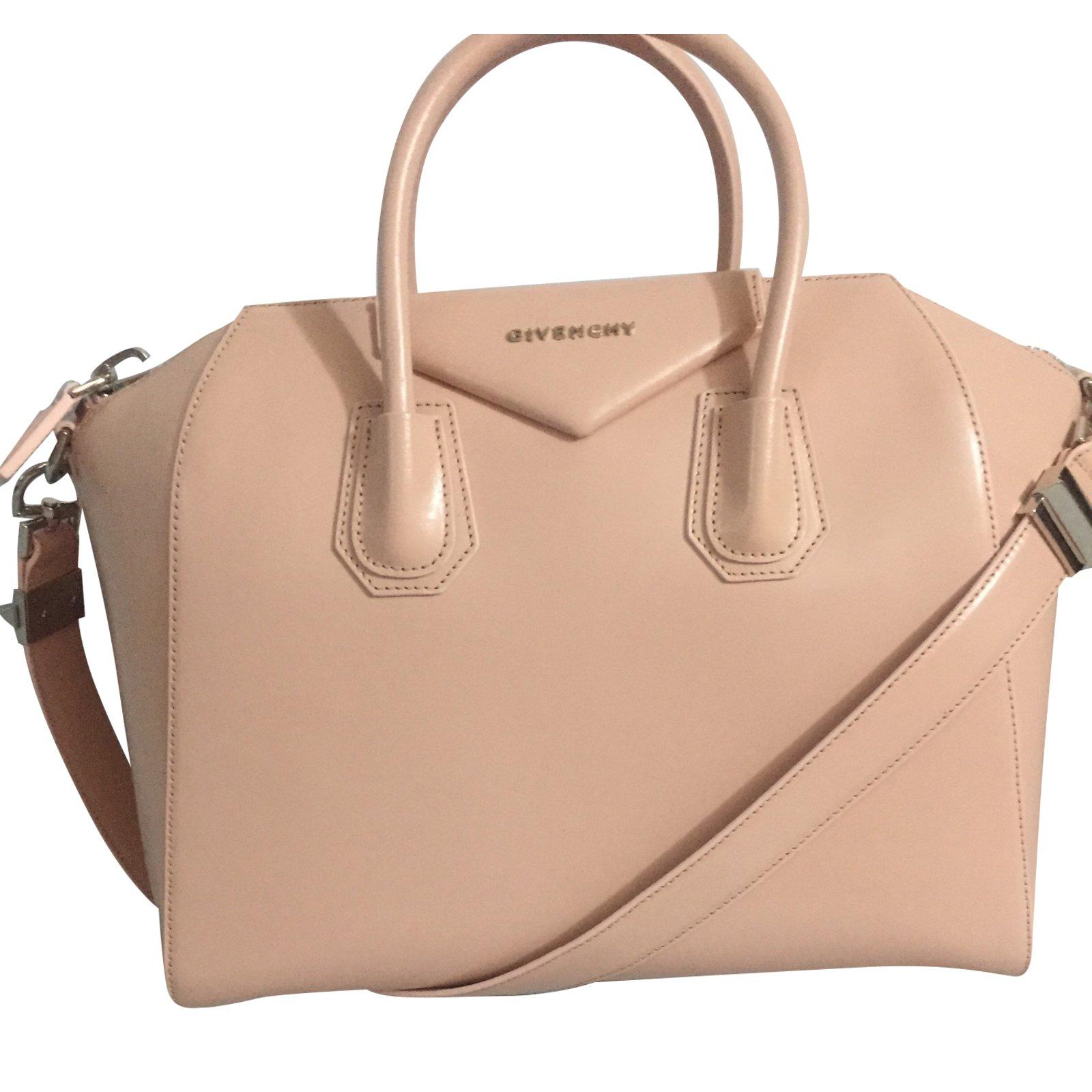 f813cad4ab9 Givenchy Antigona Handbags Leather Pink ref.42269 - Joli Closet