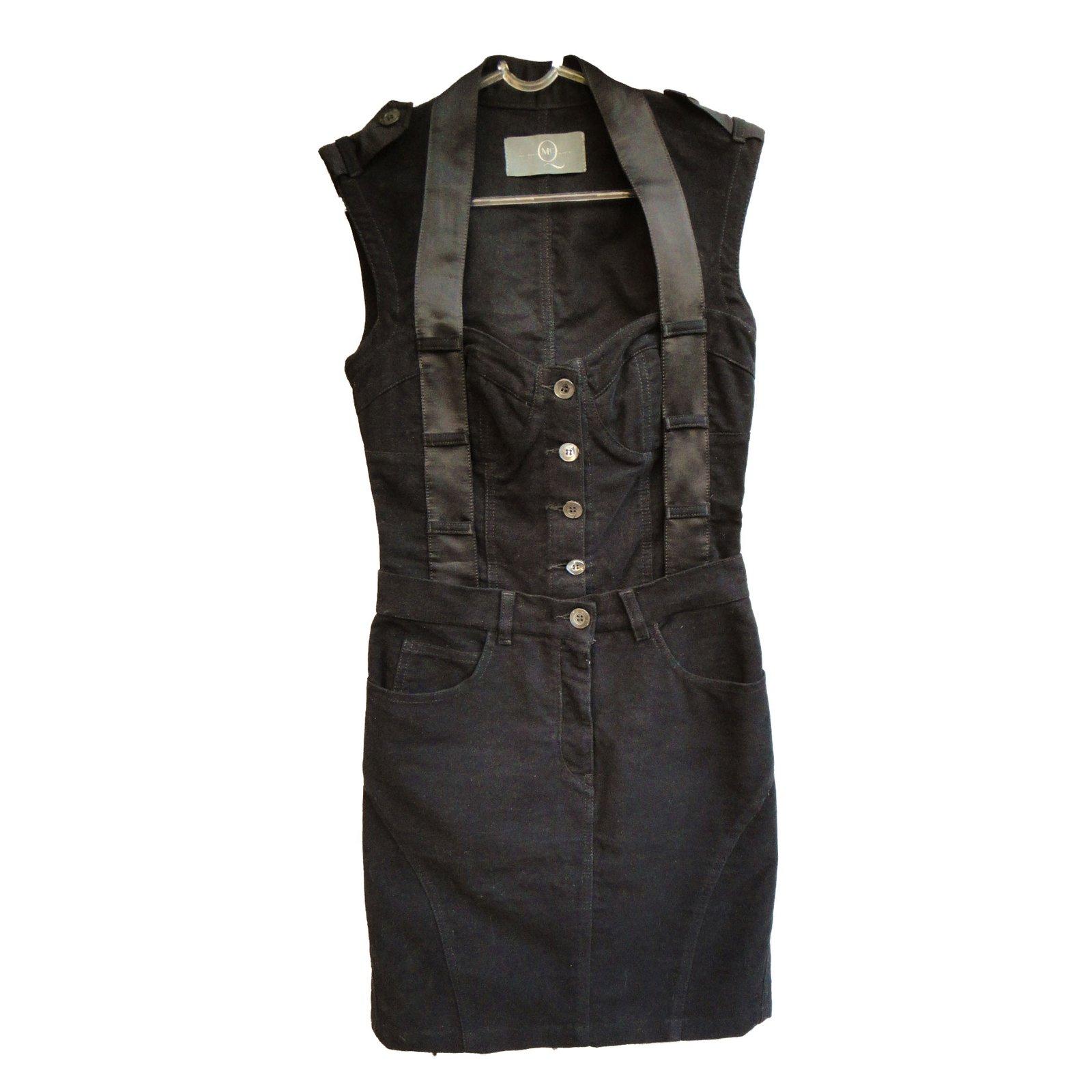 Alexander Mcqueen Dresses Dresses Cotton Black ref.42322 - Joli Closet