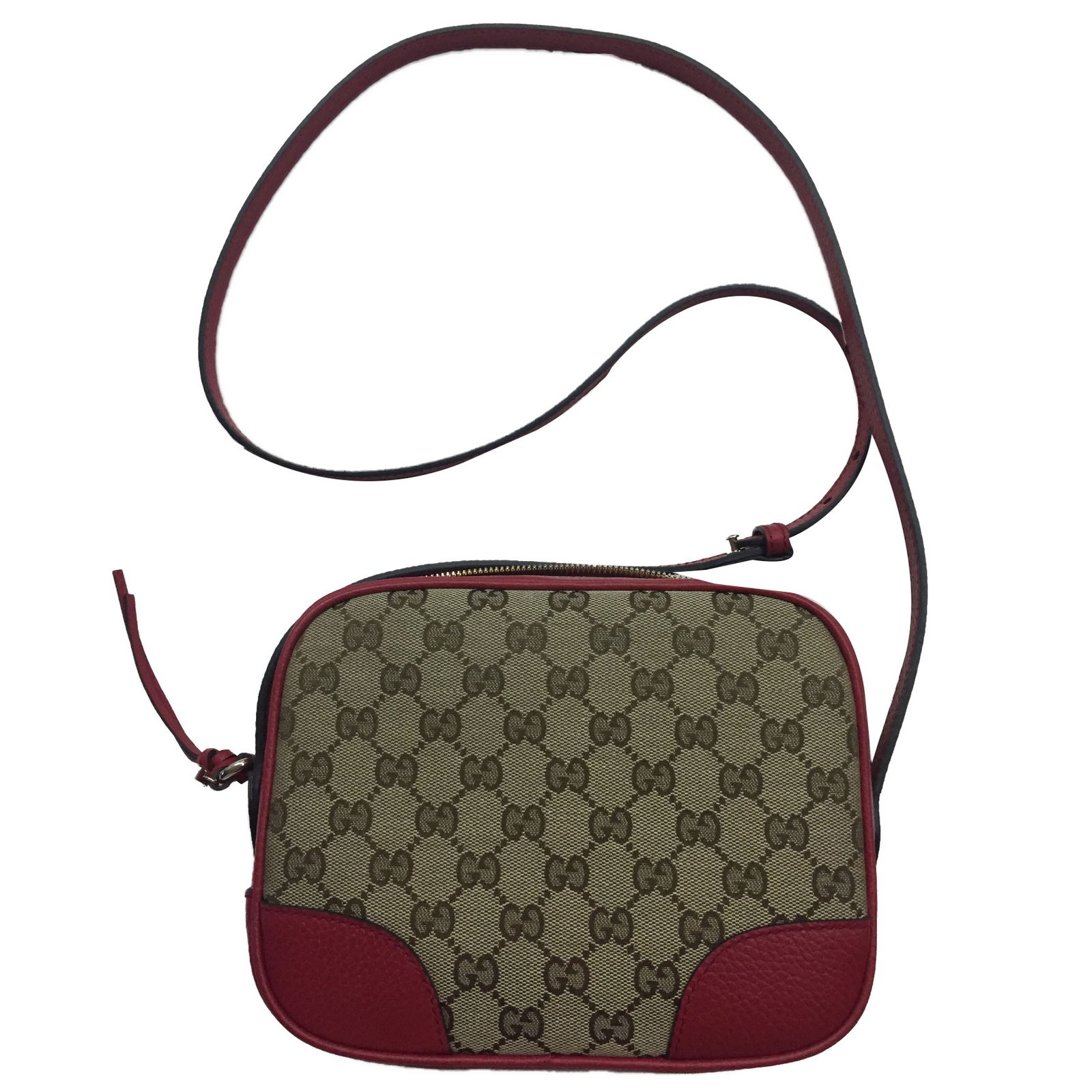 9b911ccf645d Gucci Soho disco bag Handbags Leather Red ref.42666 - Joli Closet