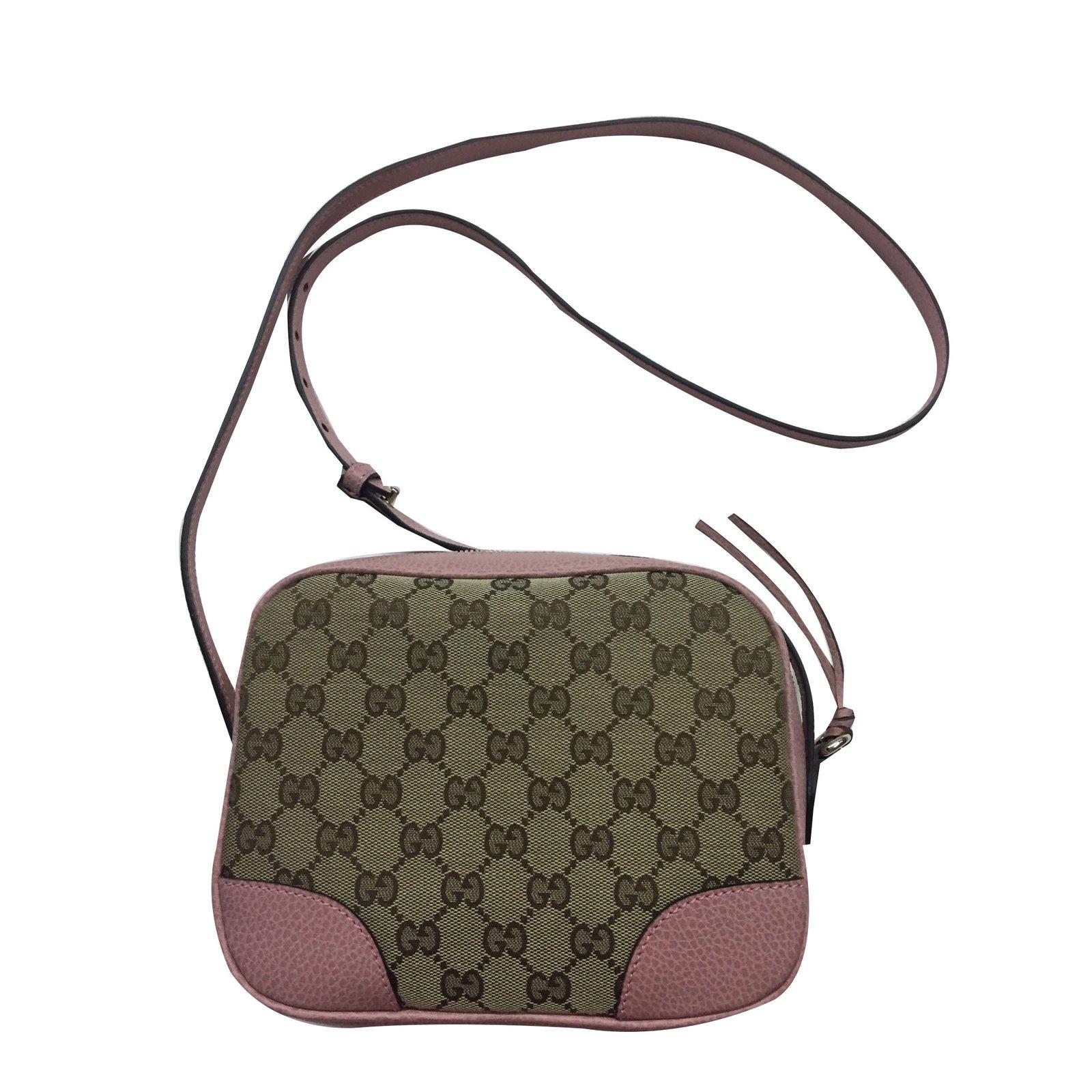 Gucci Soho Disco Bag Handbags Leather Pink Ref42669 Joli Closet
