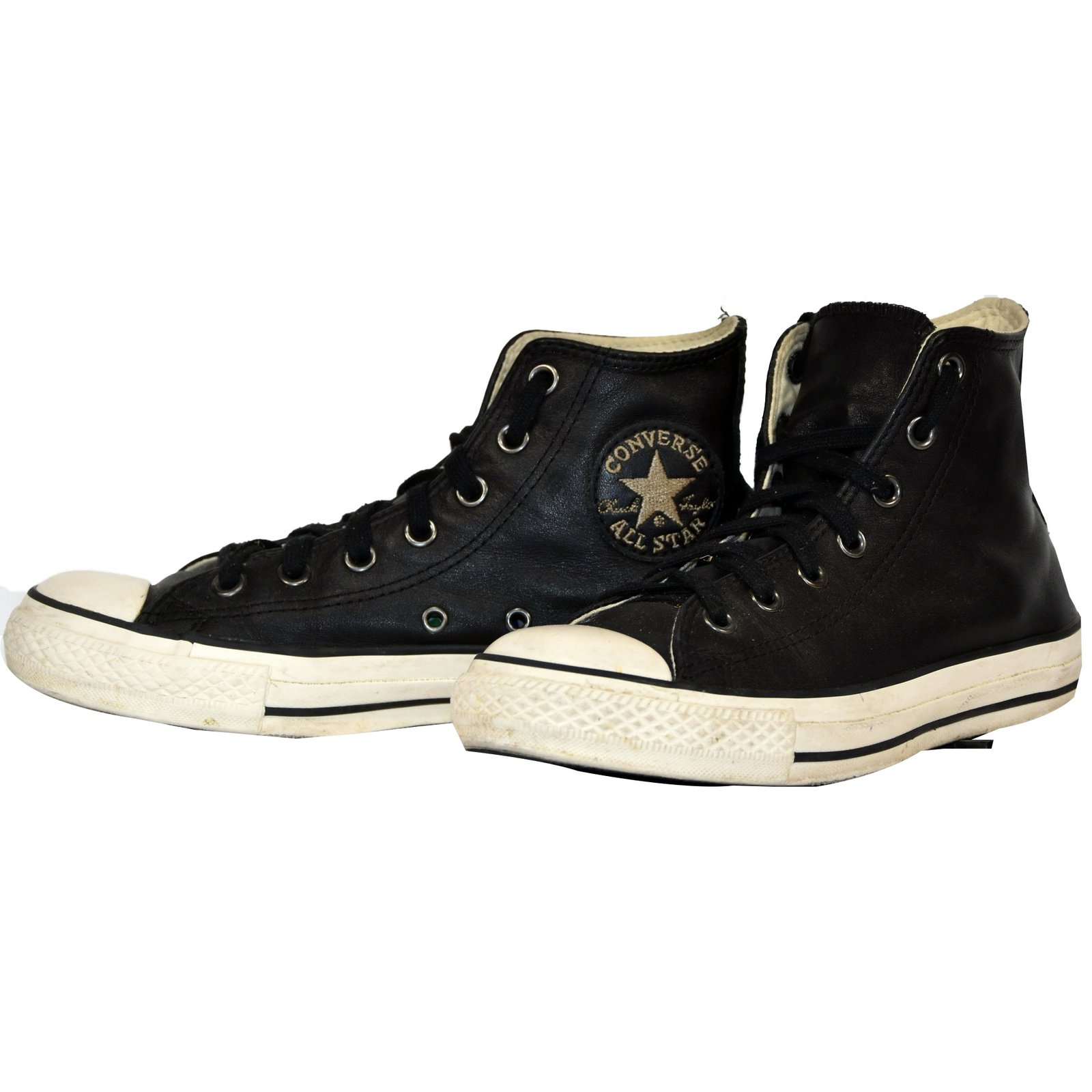 6bee490dcea Converse CONVERSE ALL STAR CHUCK TAYLOR HI CUIR NOIR T.38 UK 5.5 Sneakers  Leather