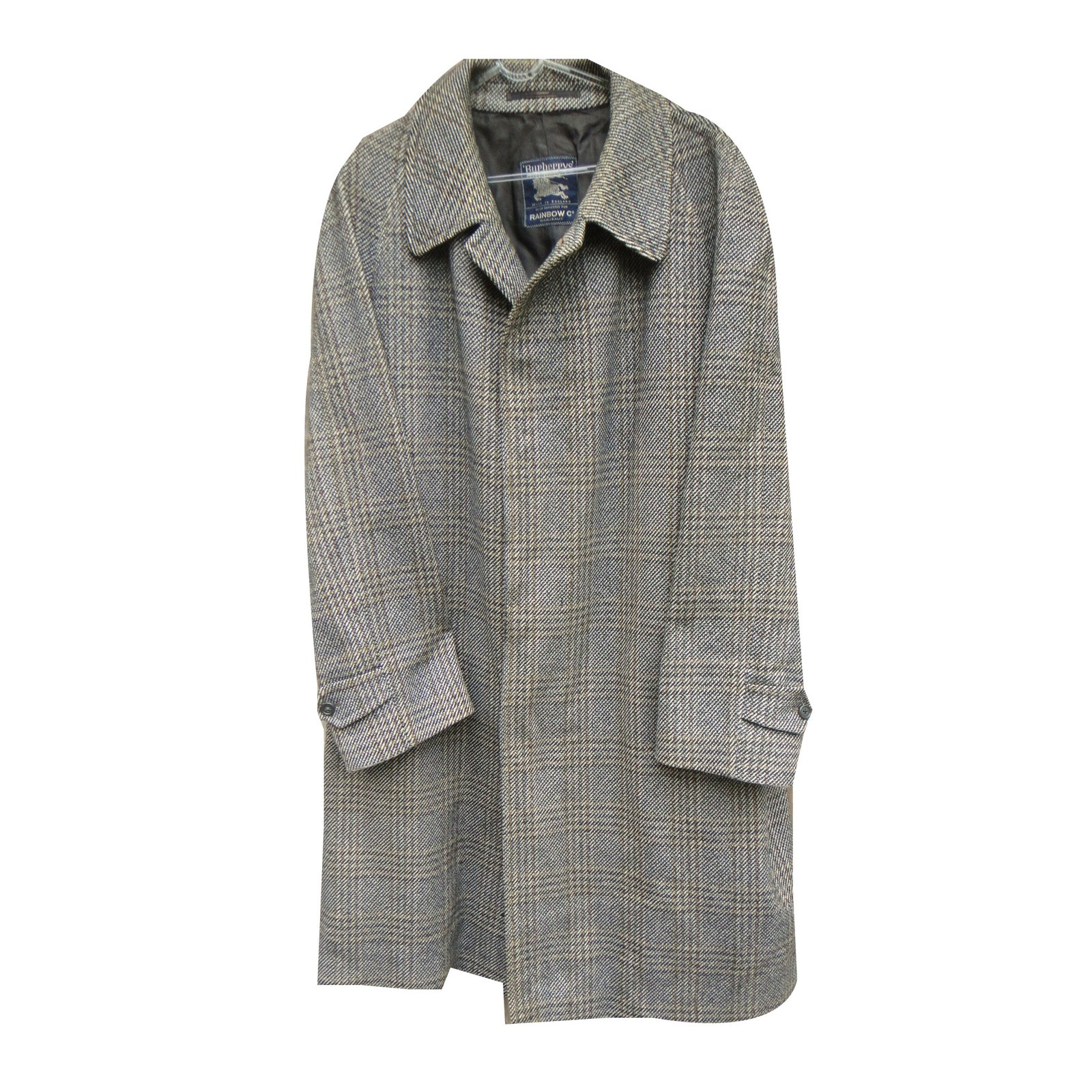 burberry coat men
