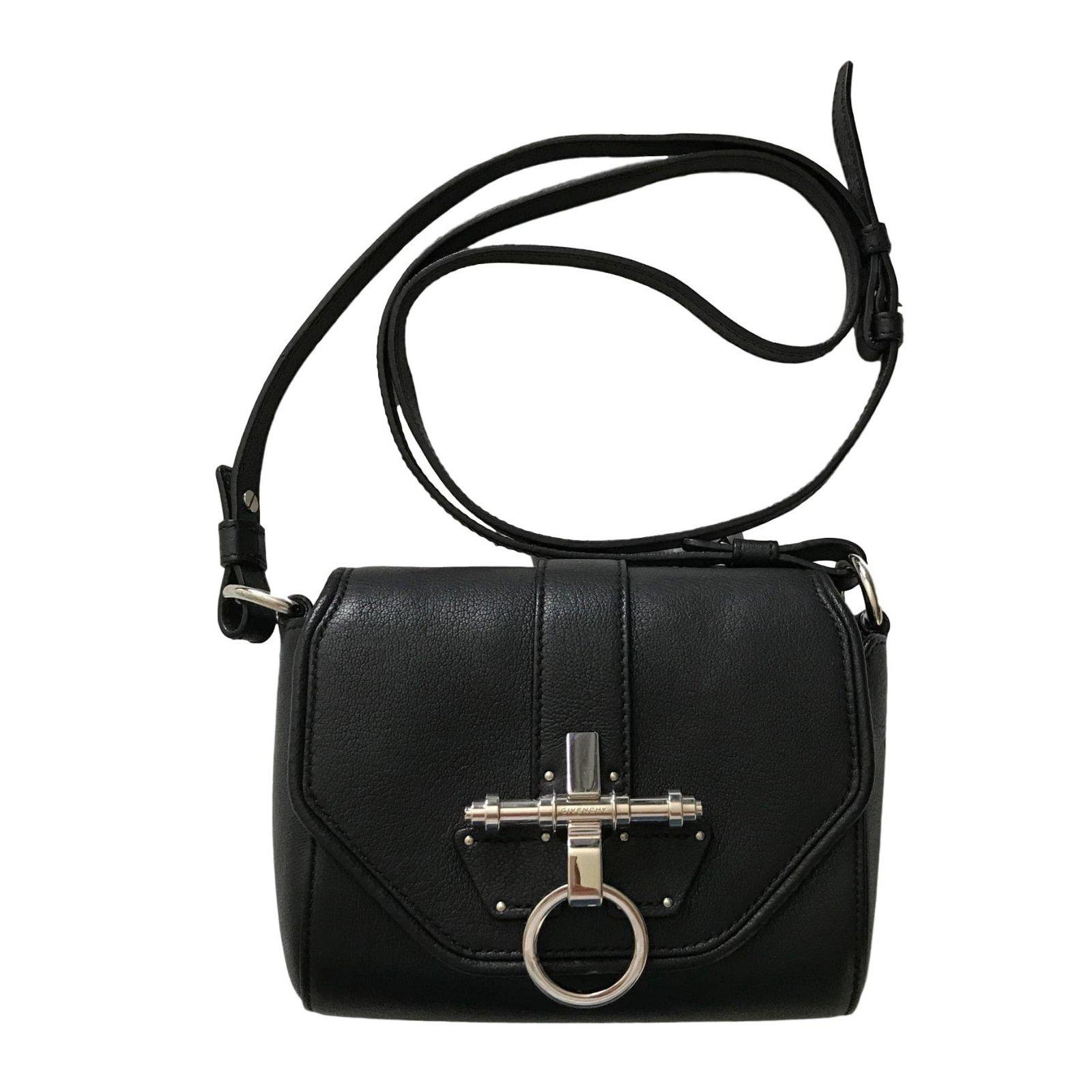 daf04d7e69 Sacs à main Givenchy Givenchy Obsedia Coney Cuir Noir ref.43773 ...